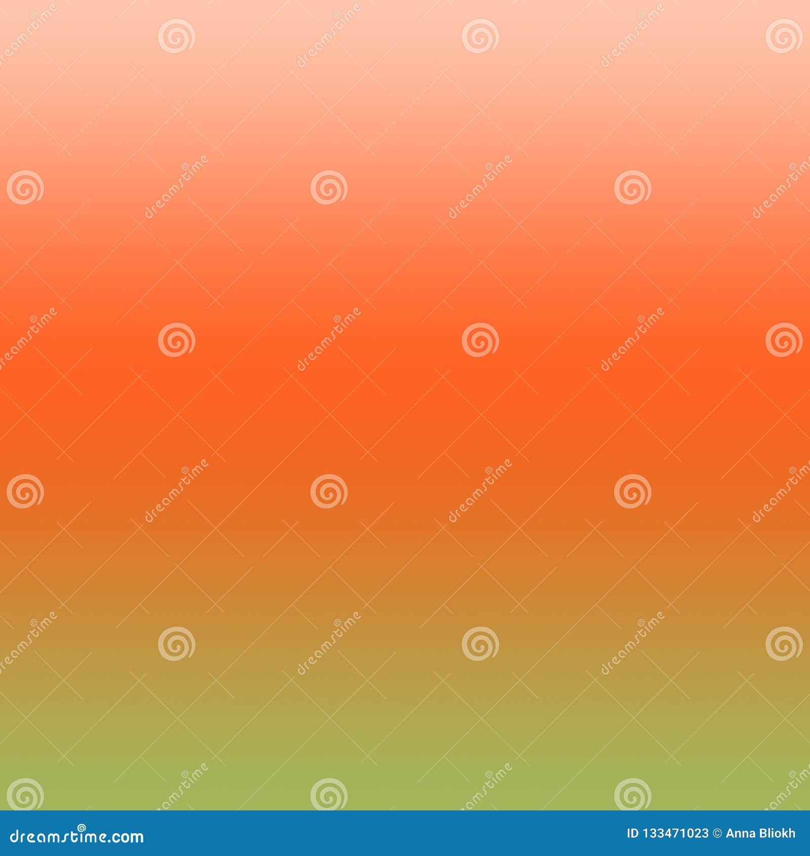 Pomarańcze i zieleni tła Ombre rewolucjonistki zieleni Gradientowy wzór