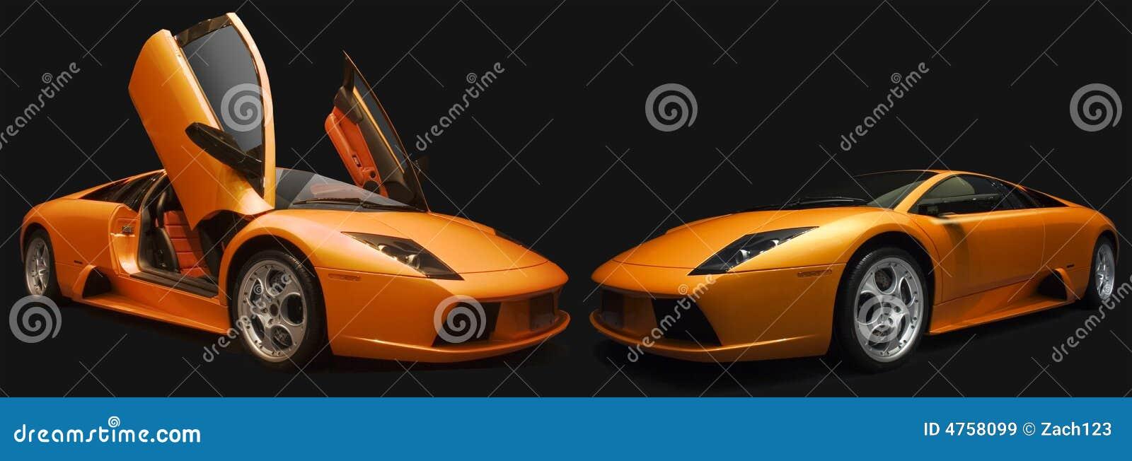 Pomarańcze lamborghinis 2