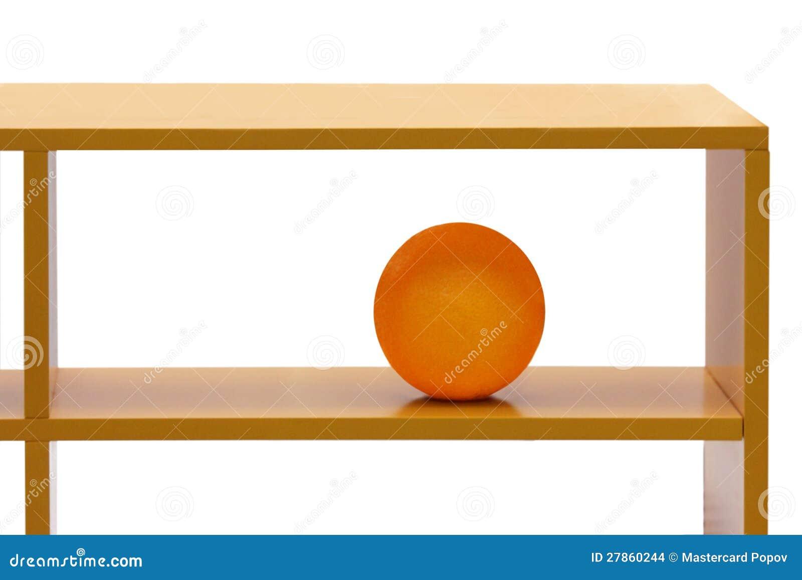 Pomarańcze na pułku