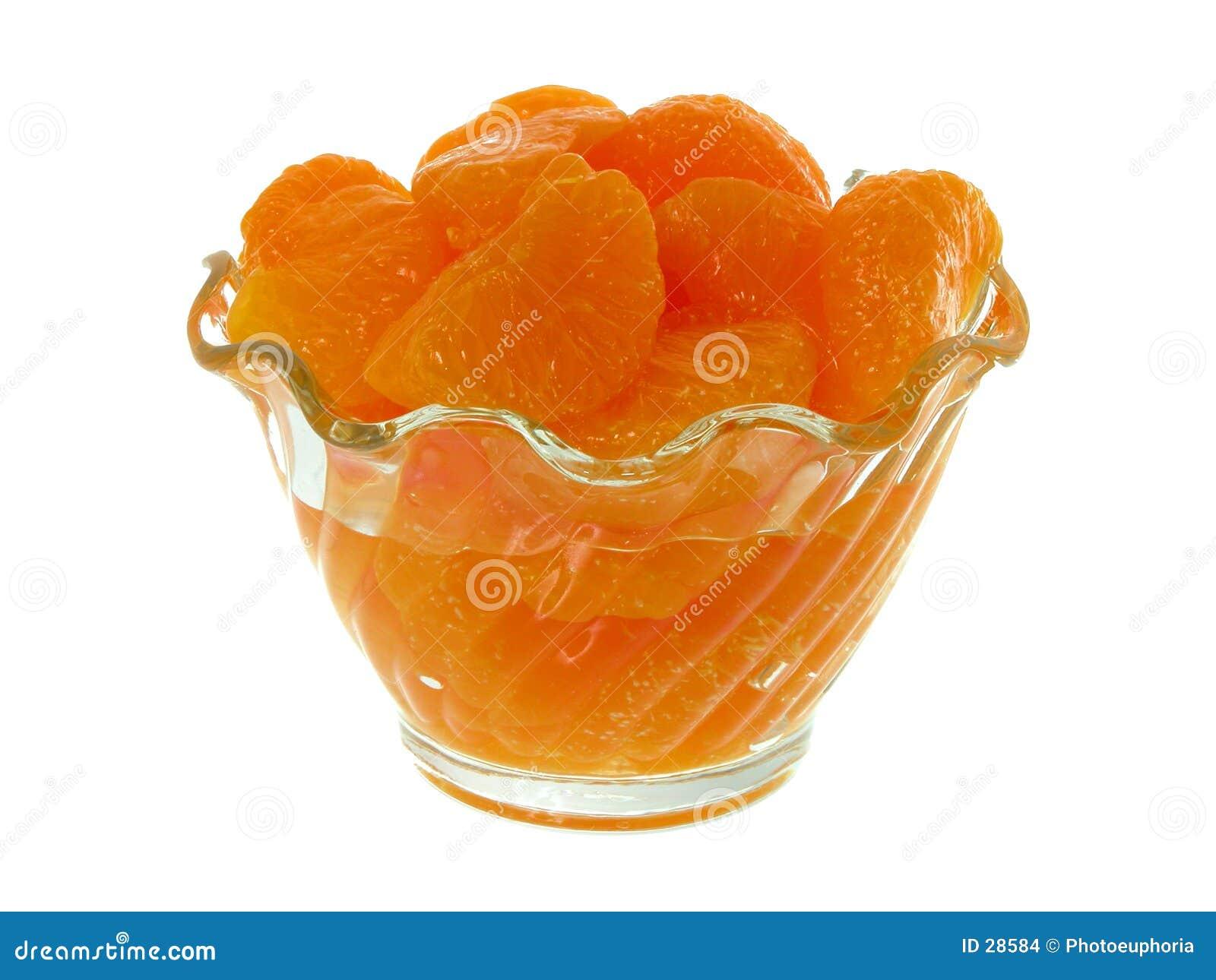 Pomarańcze segmentów mandarynki