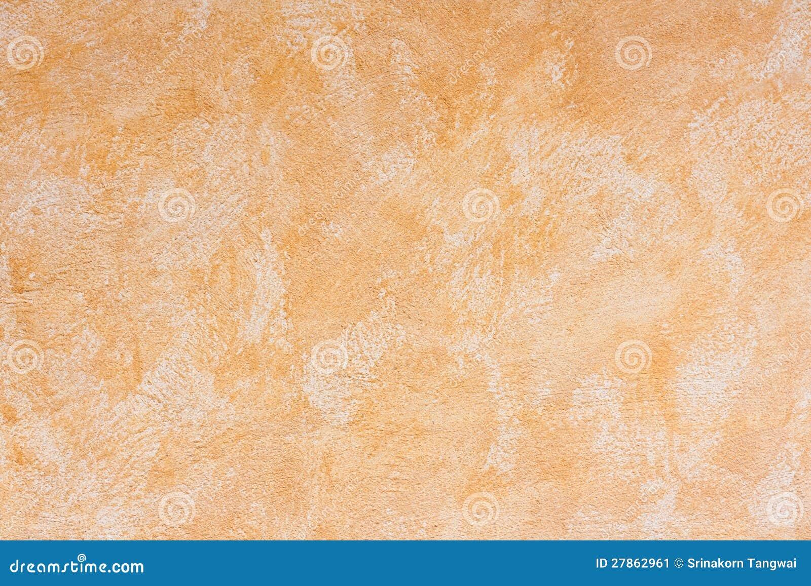 Pomarańcze starzejąca się betonowa ściana