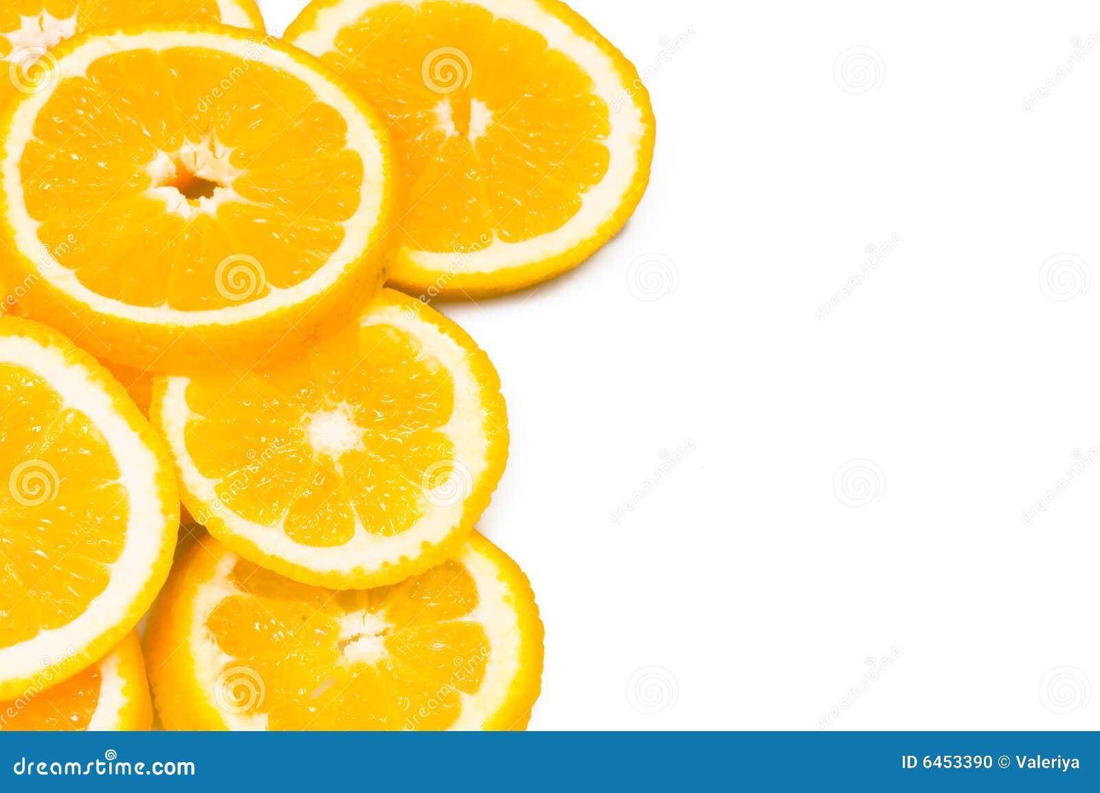 Pomarańcze tło
