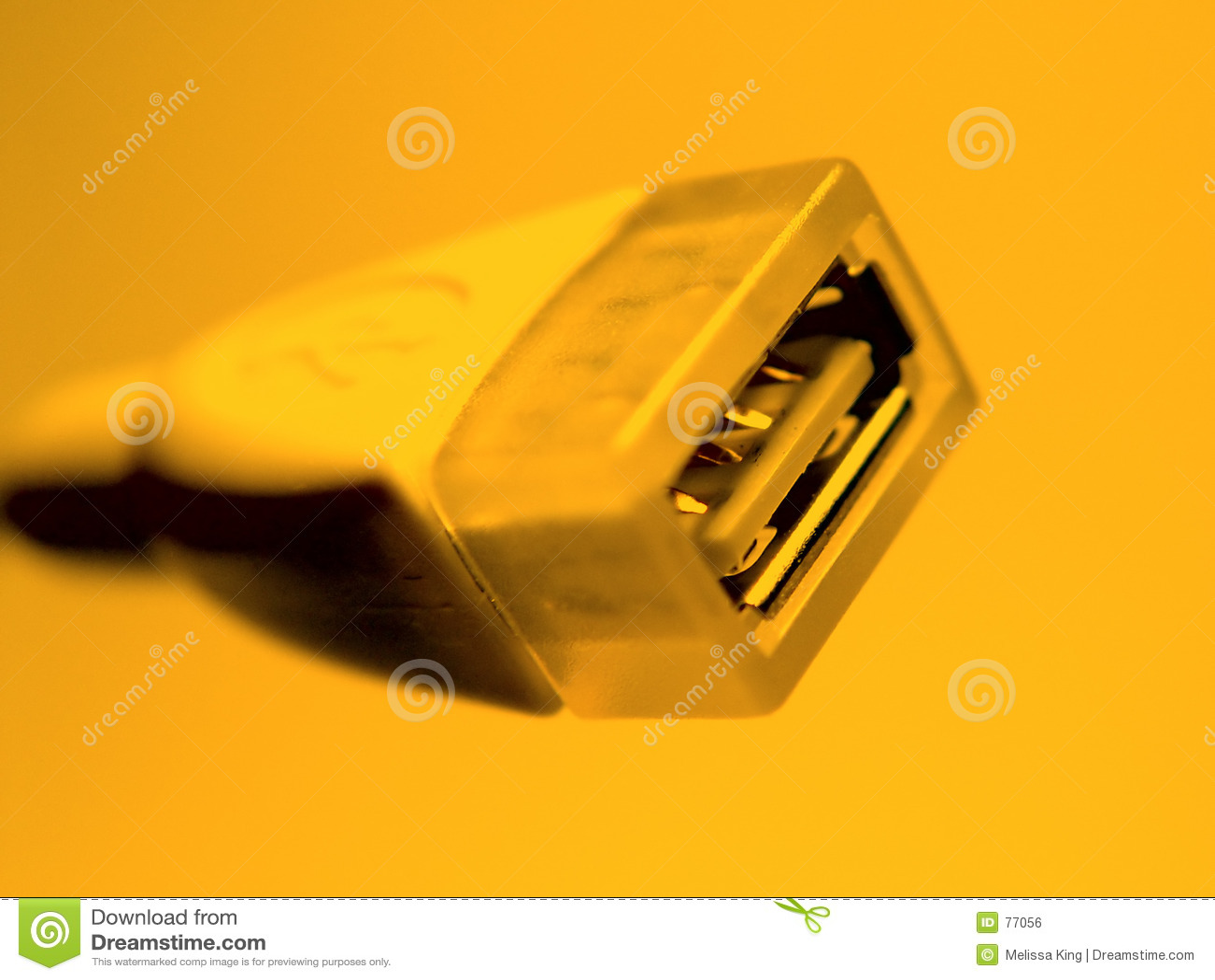 Pomarańcze usb cable