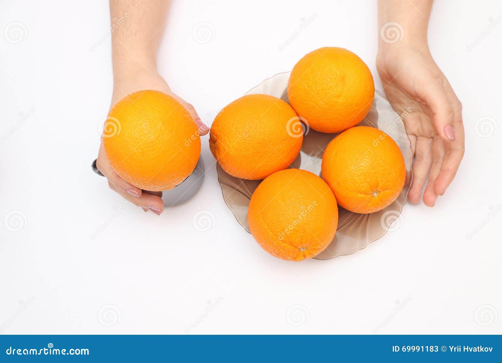 Pomarańcze w pucharze