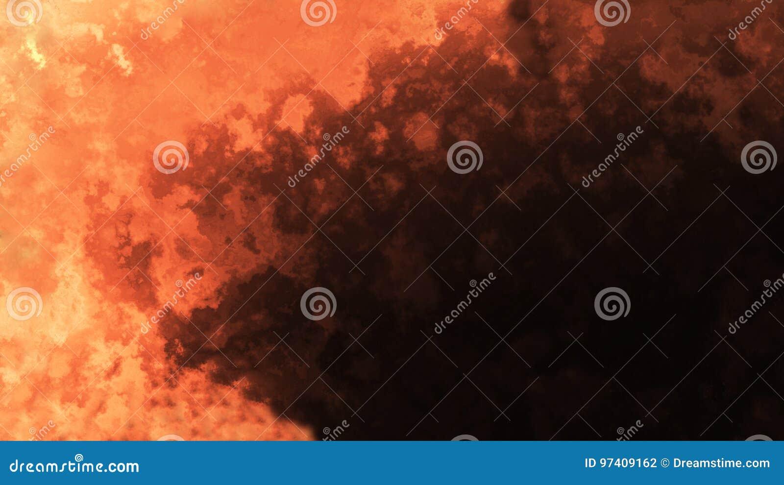 Pomarańczowa abstrakcja