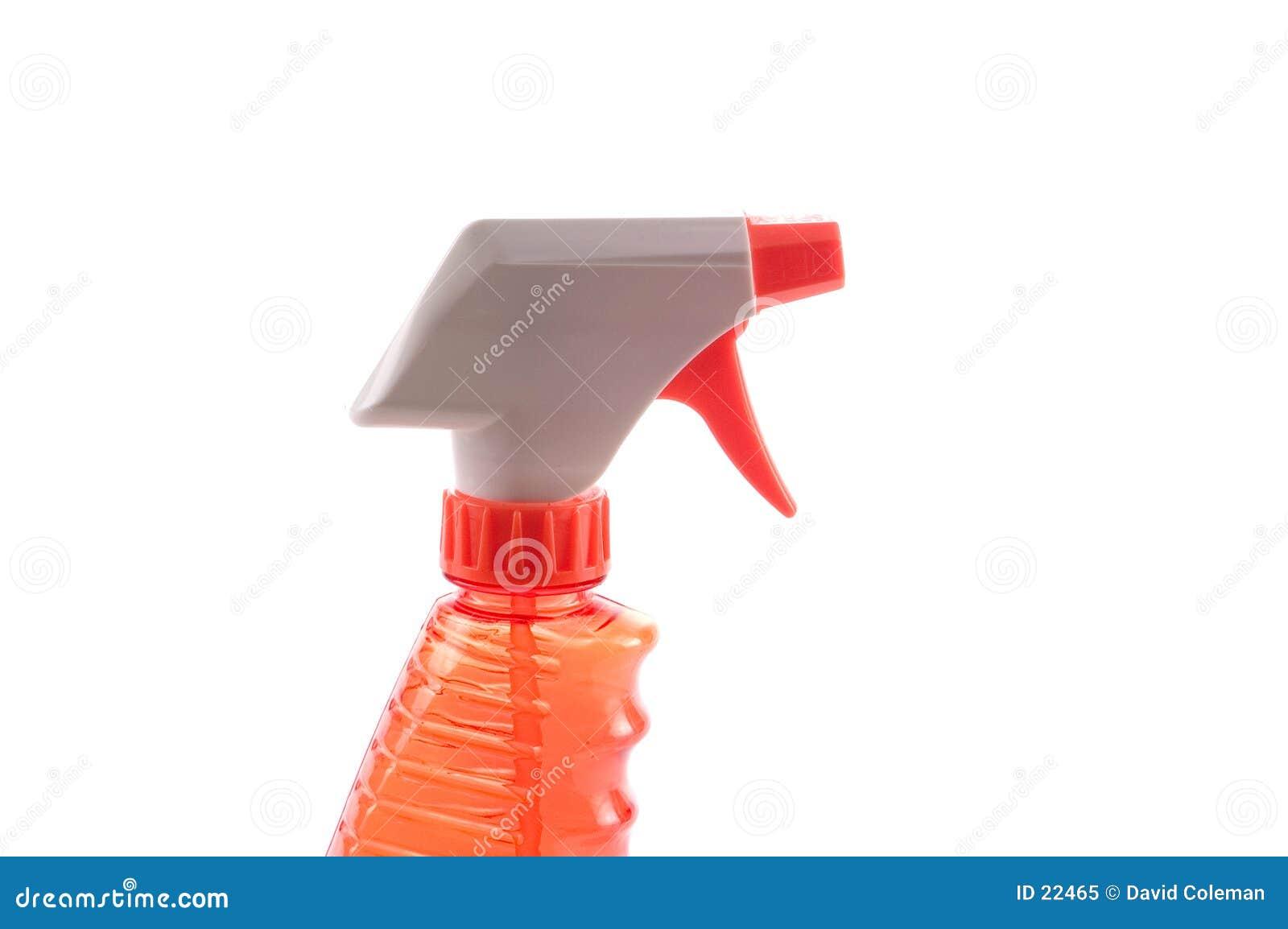 Pomarańczowa sprayem butelek