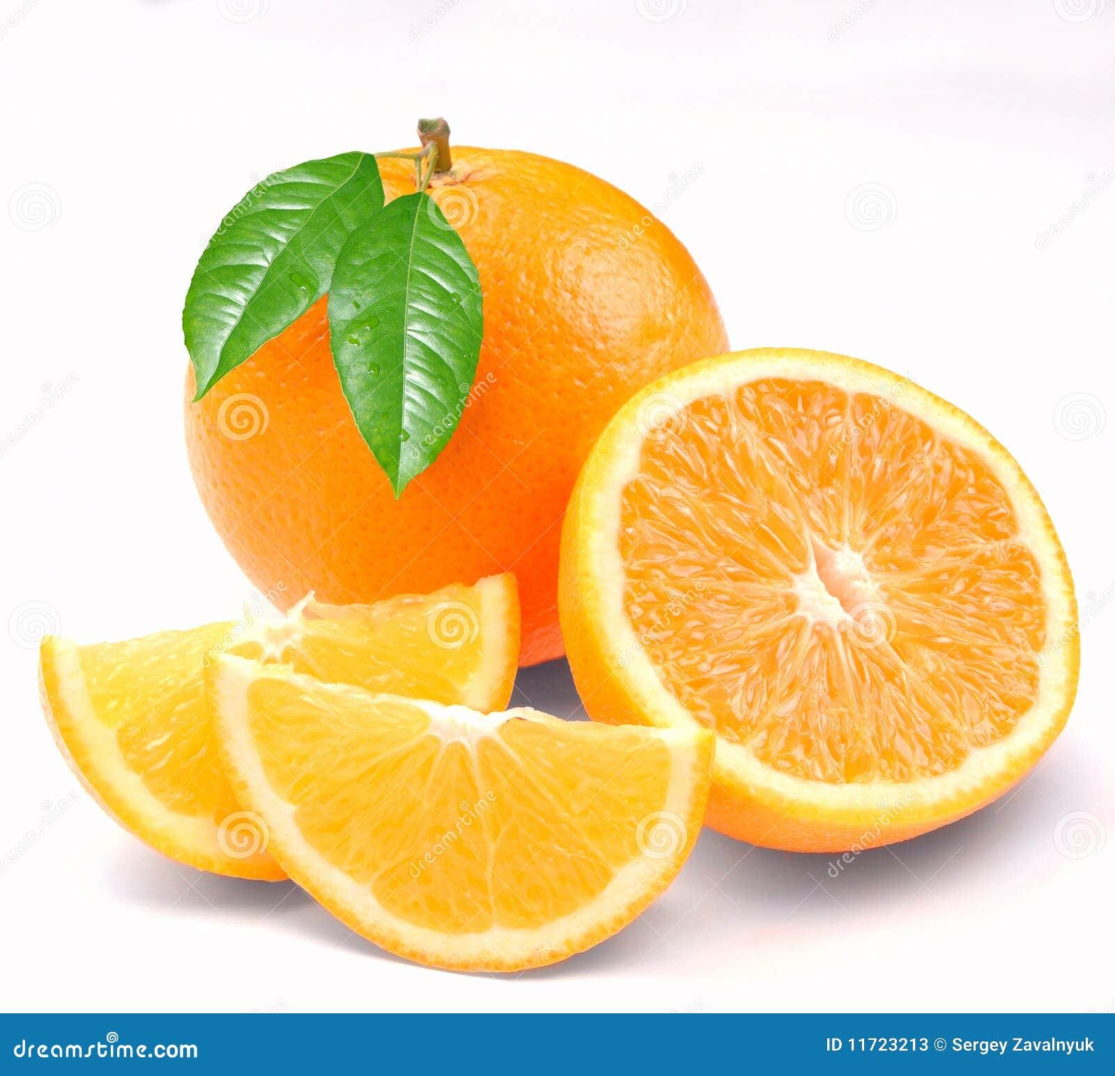 Pomarańczowi segmenty