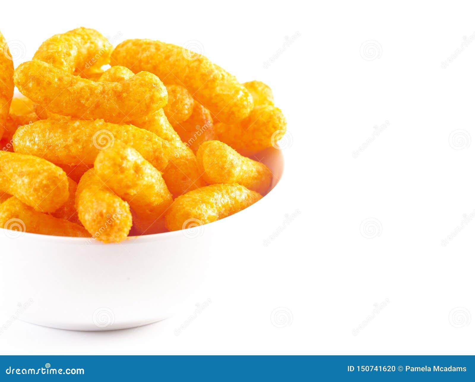 Pomarańczowy cheddaru ser Chucha na Białym tle