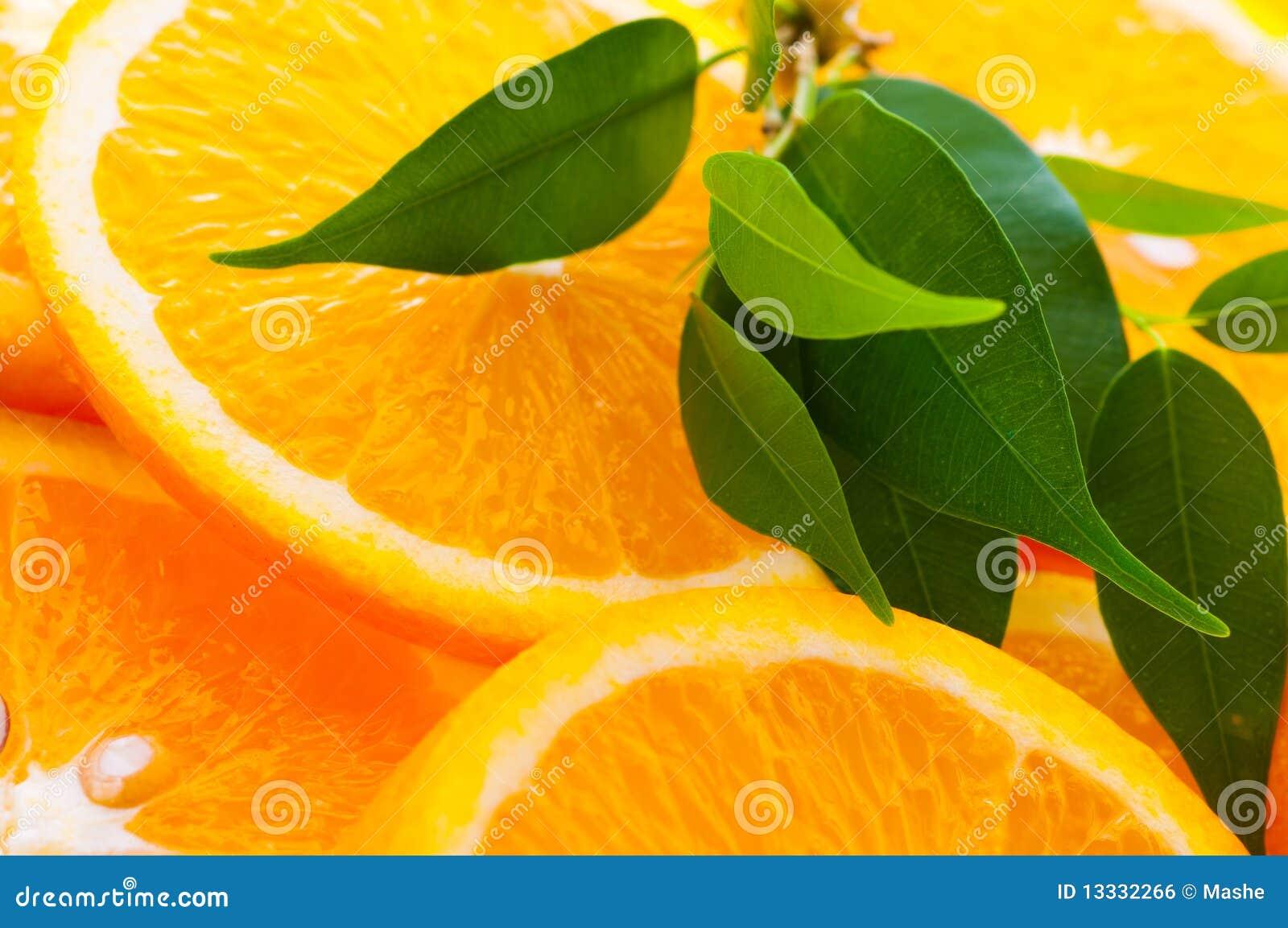 Pomarańczowy plasterek