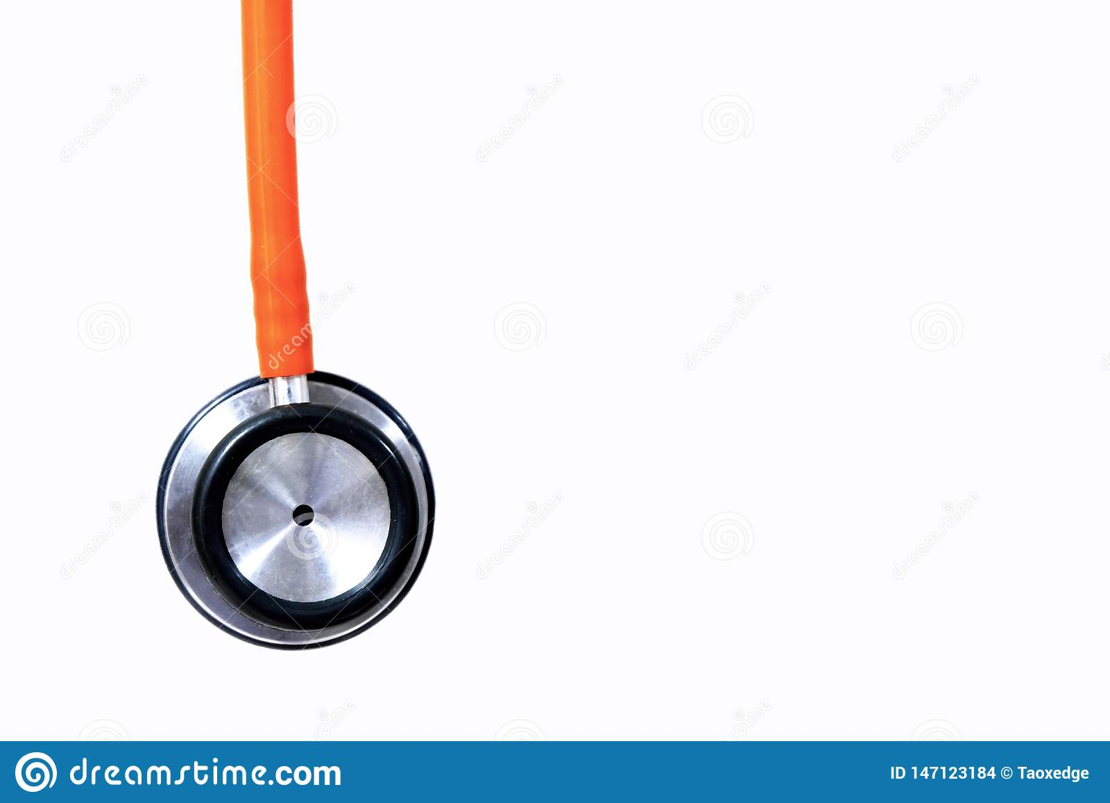 Pomara?czowy stetoskop