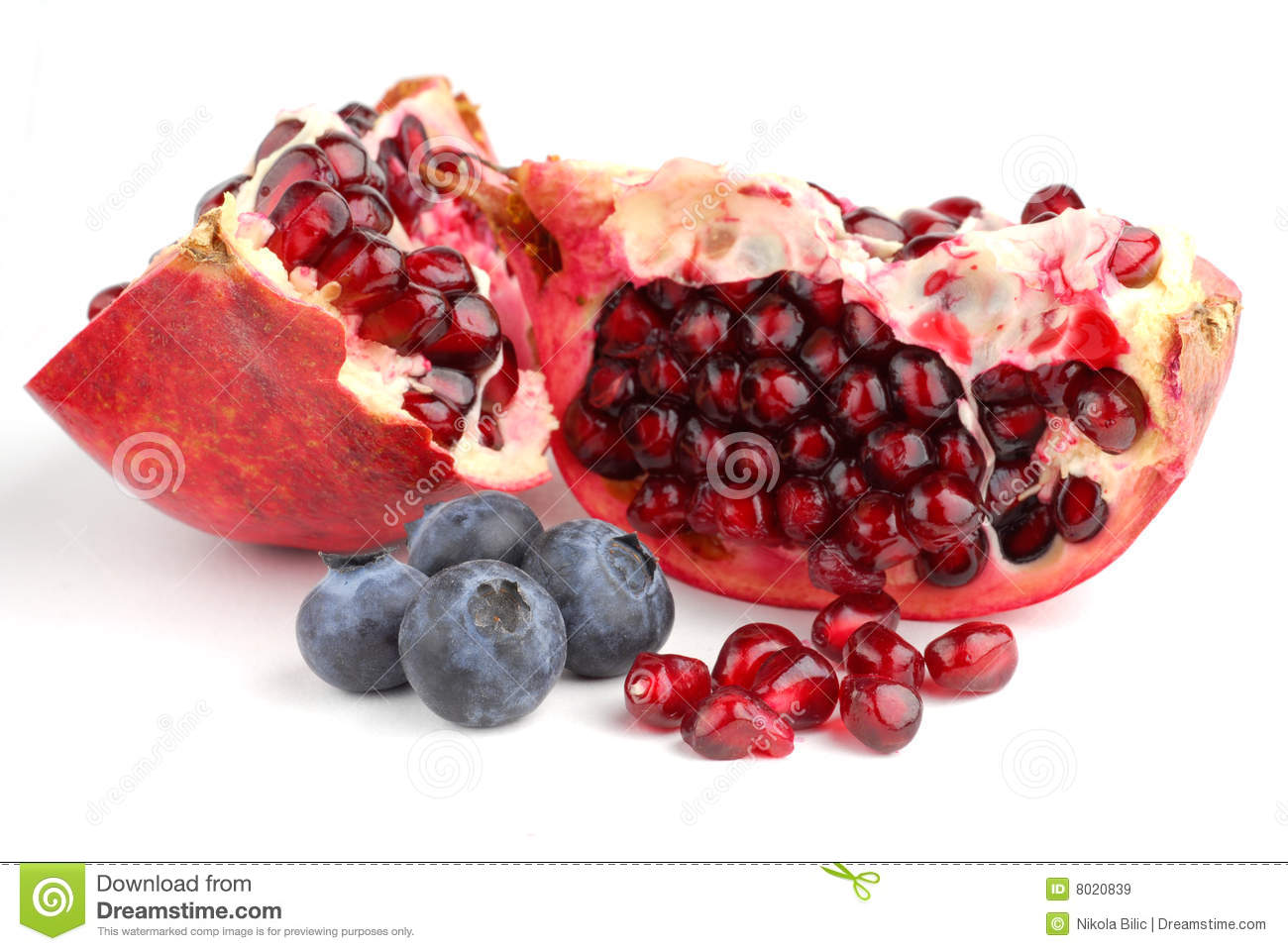 Pomegranate голубик