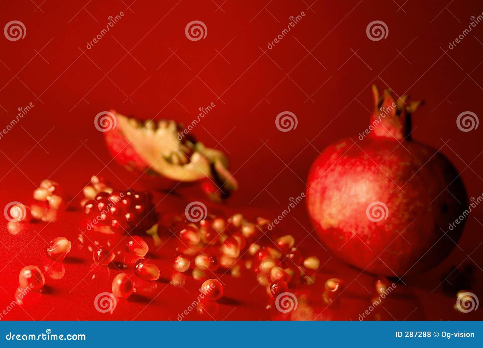 how to prepare pomegranate seeds