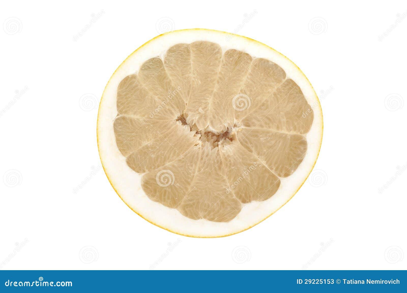 Download Pomelo imagem de stock. Imagem de comer, branco, orgânico - 29225153