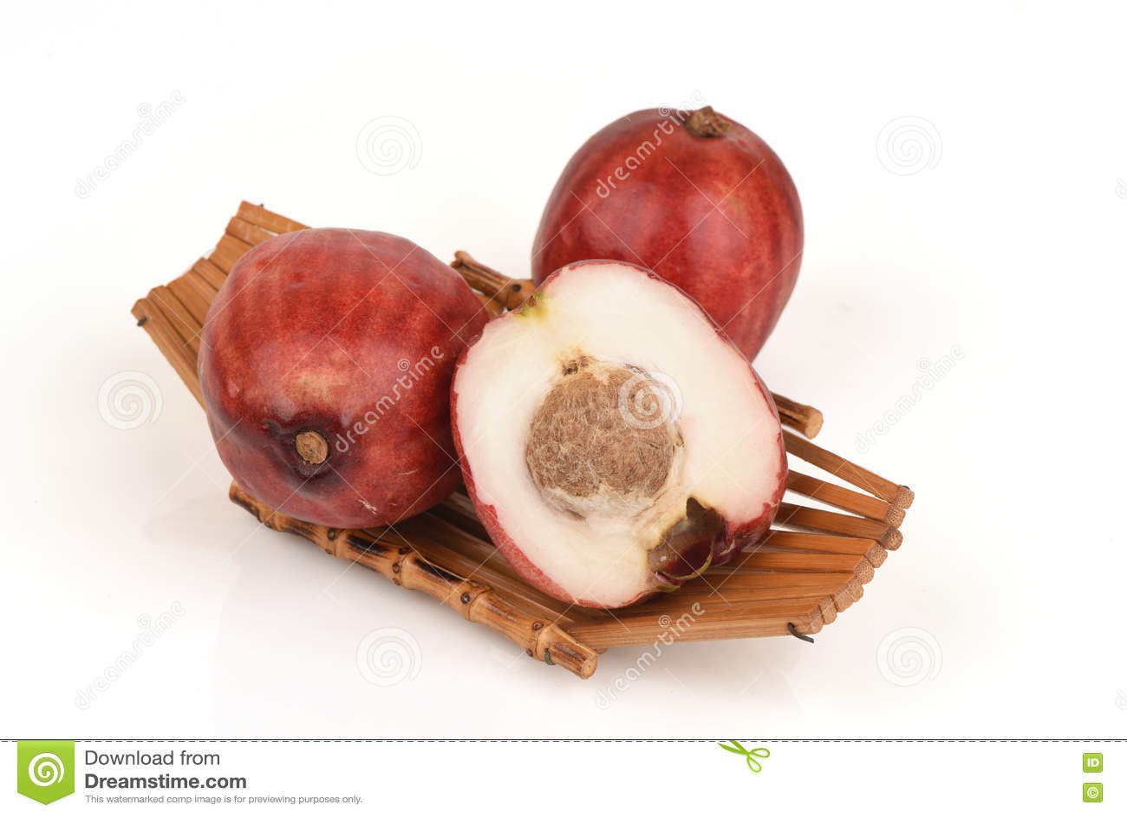 Pomerac, malaio Apple (malaccense do Syzygium (L ) Merrill & Perry)