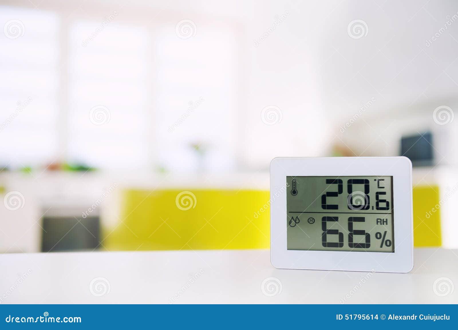 Pomiar wilgotność w pokoju i temperatura