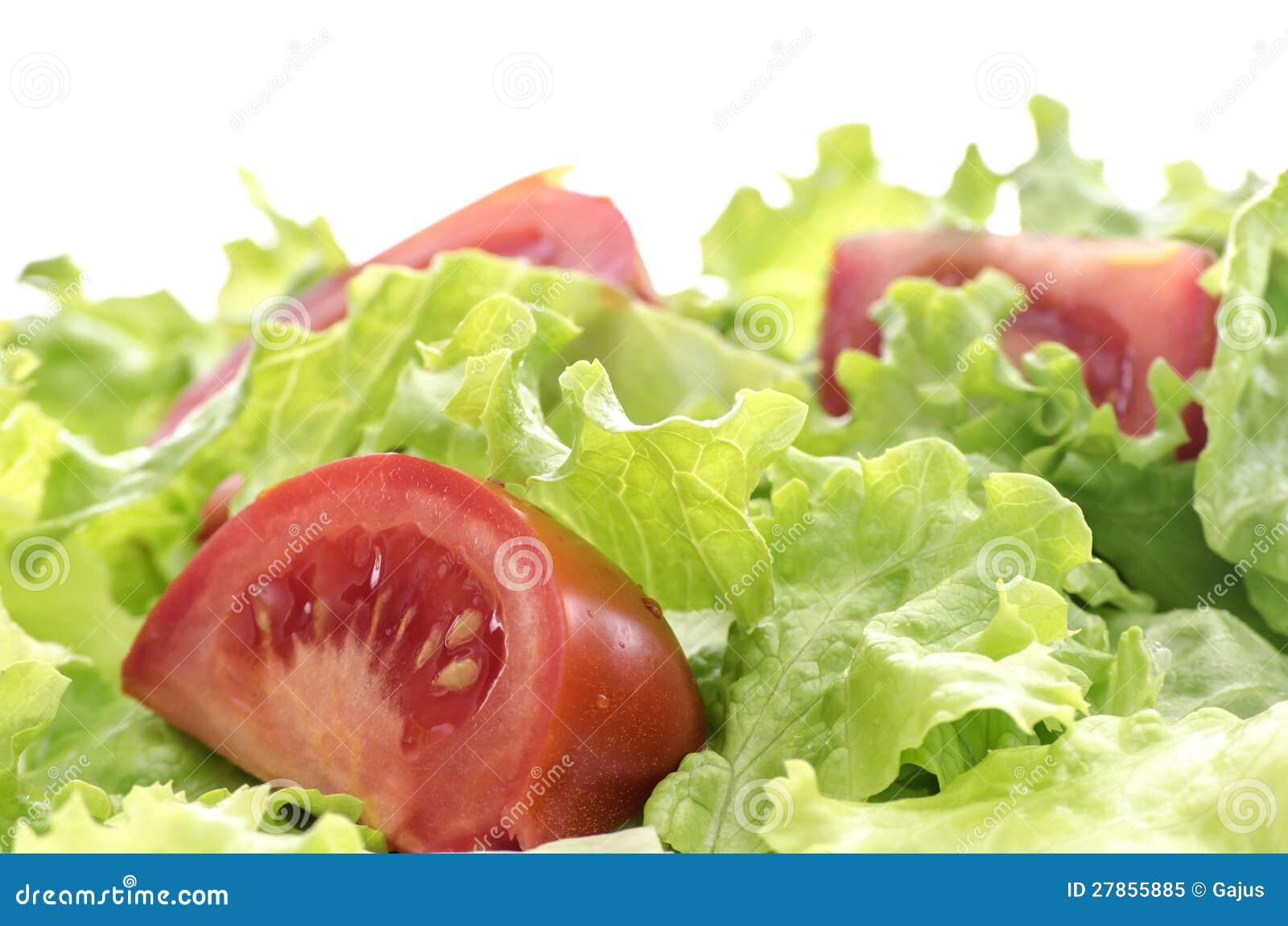 Pomidor i sałaty sałatka