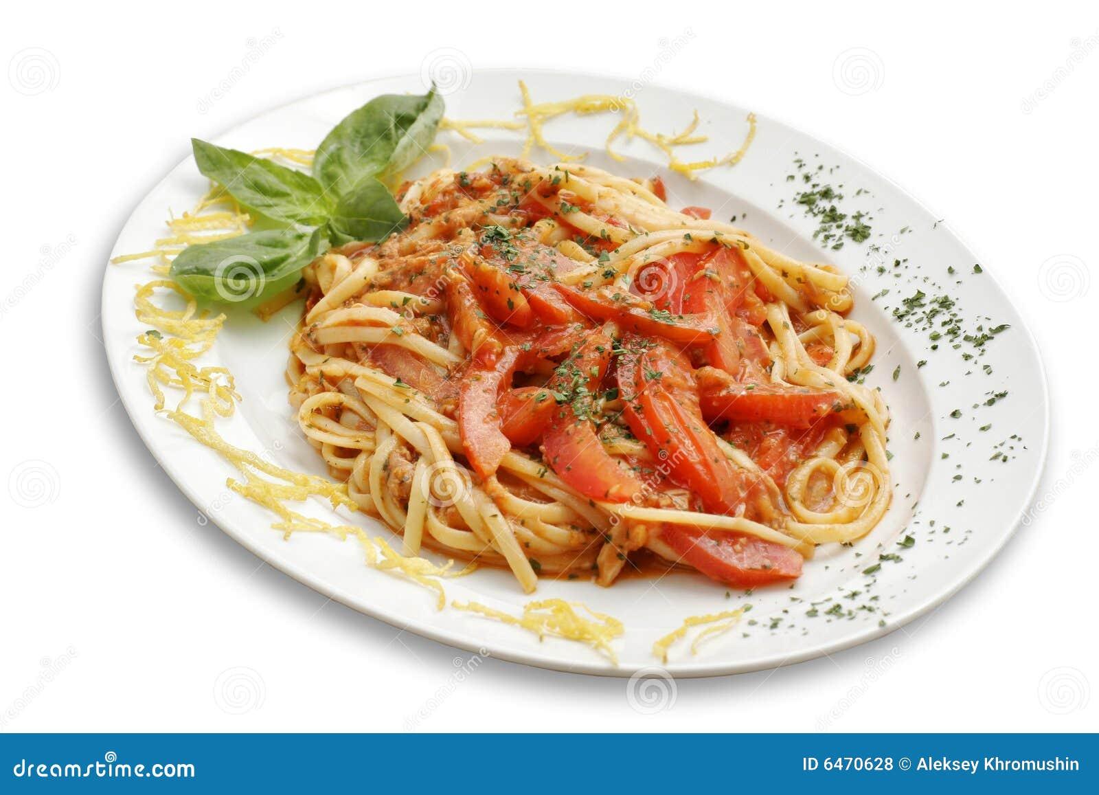 Pomidor makaronu