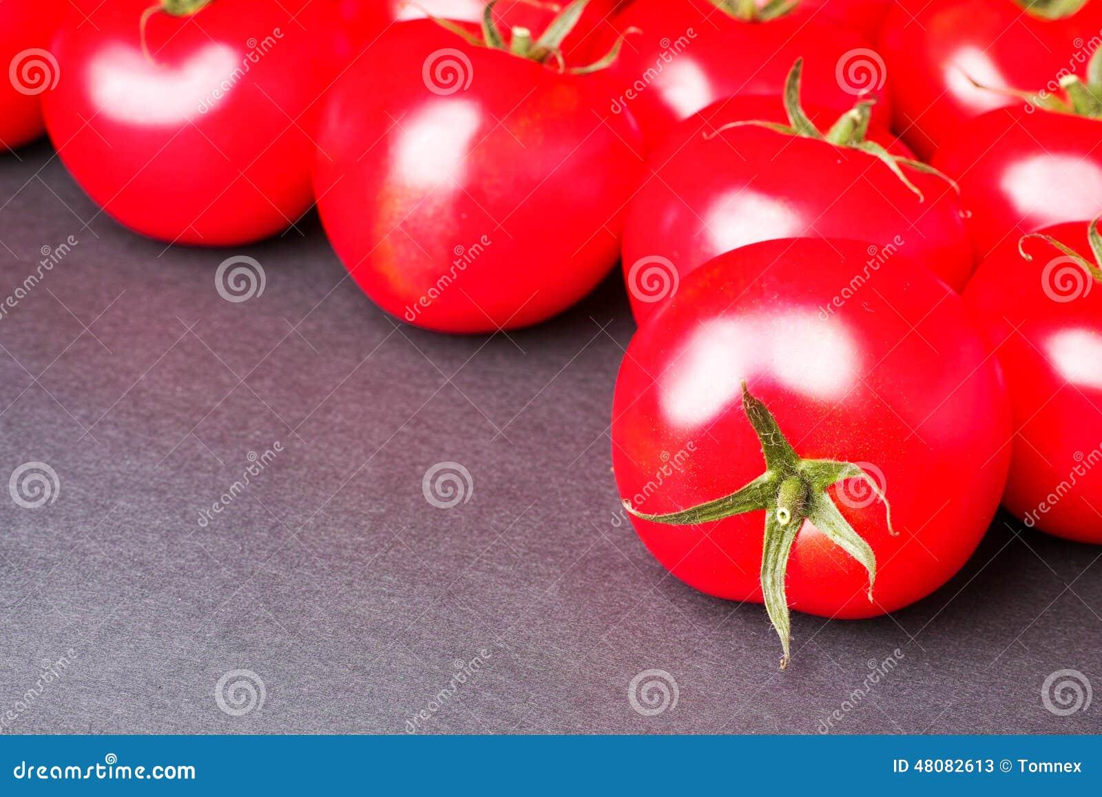 Pomidorowy abstrakt