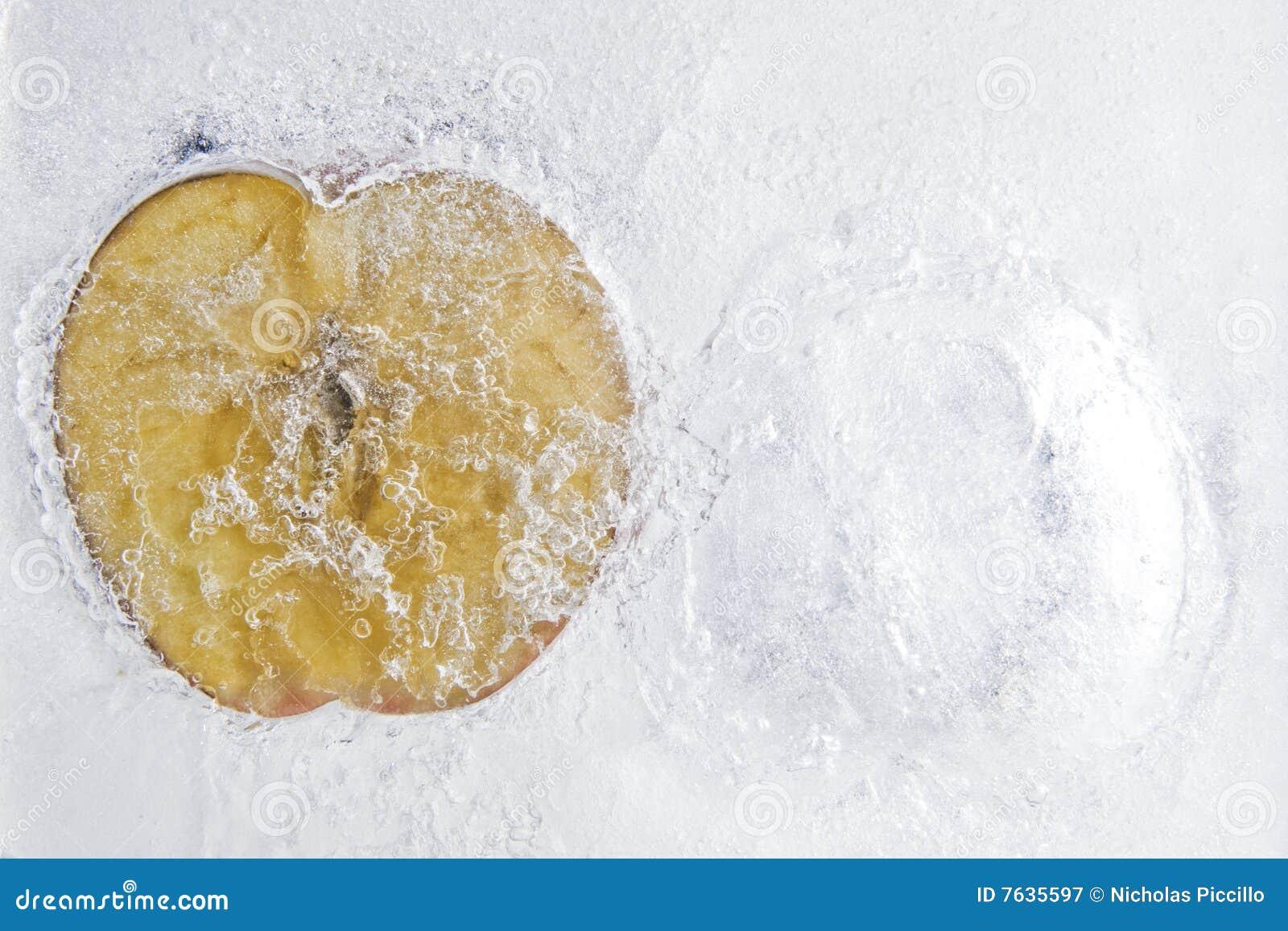 Pomme congelée