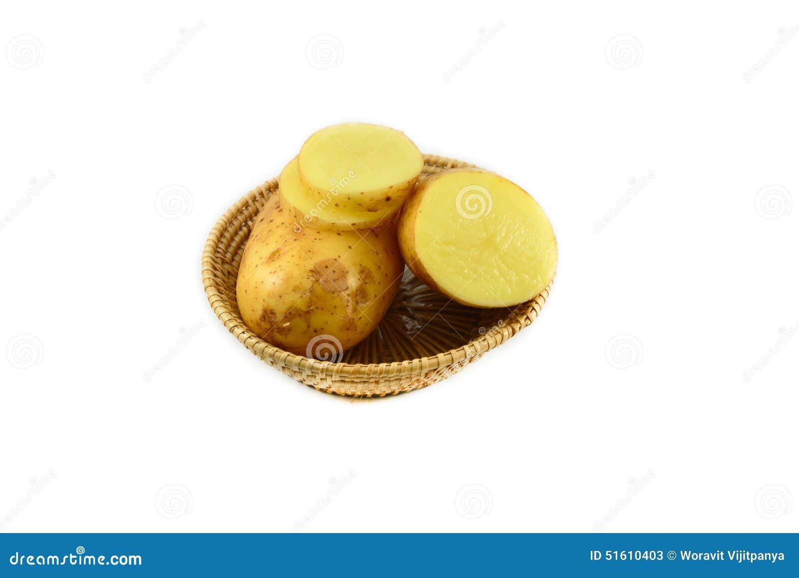 Pomme de terre crue et pomme de terre coup e en tranches stock images 52 photos - Pomme de terre coup de soleil ...