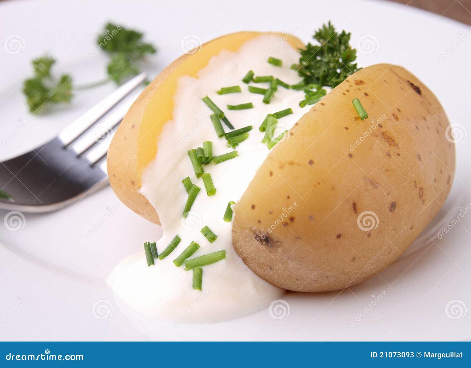 Pomme de terre cuite au four image stock image 21073093 - Conservation pomme de terre cuite ...