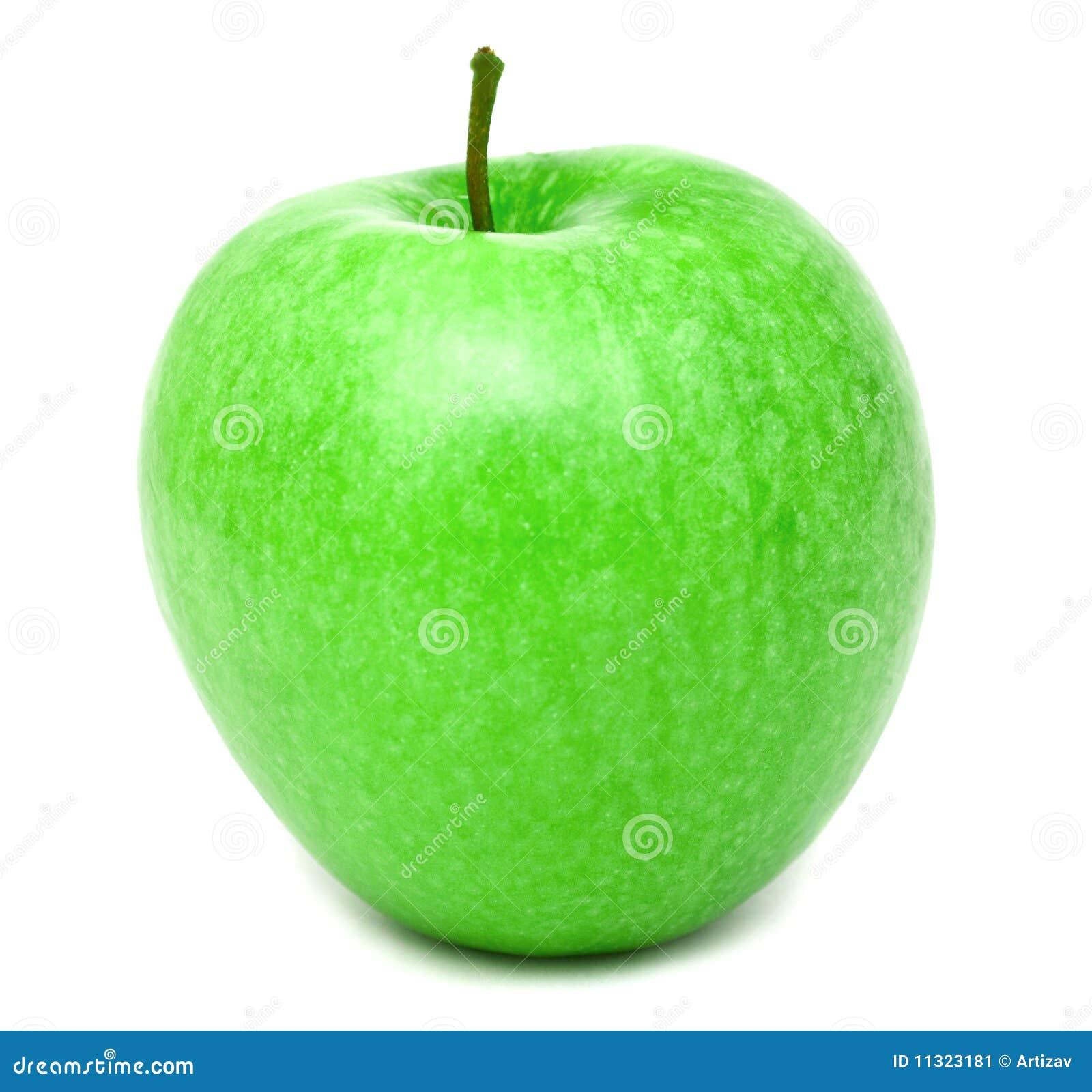 Pomme vert clair fraîche