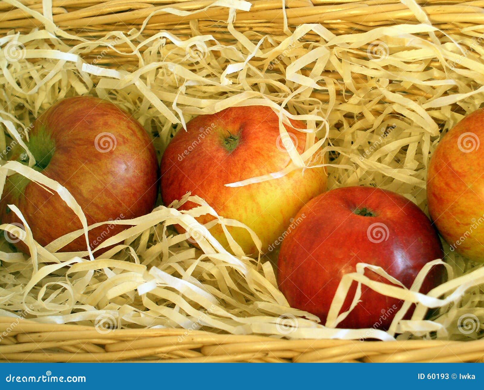 Download Pommes image stock. Image du pommes, conteneurs, pomme, santé - 60193