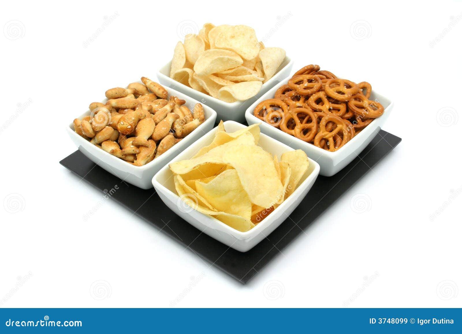 Pommes chips et casse-croûte