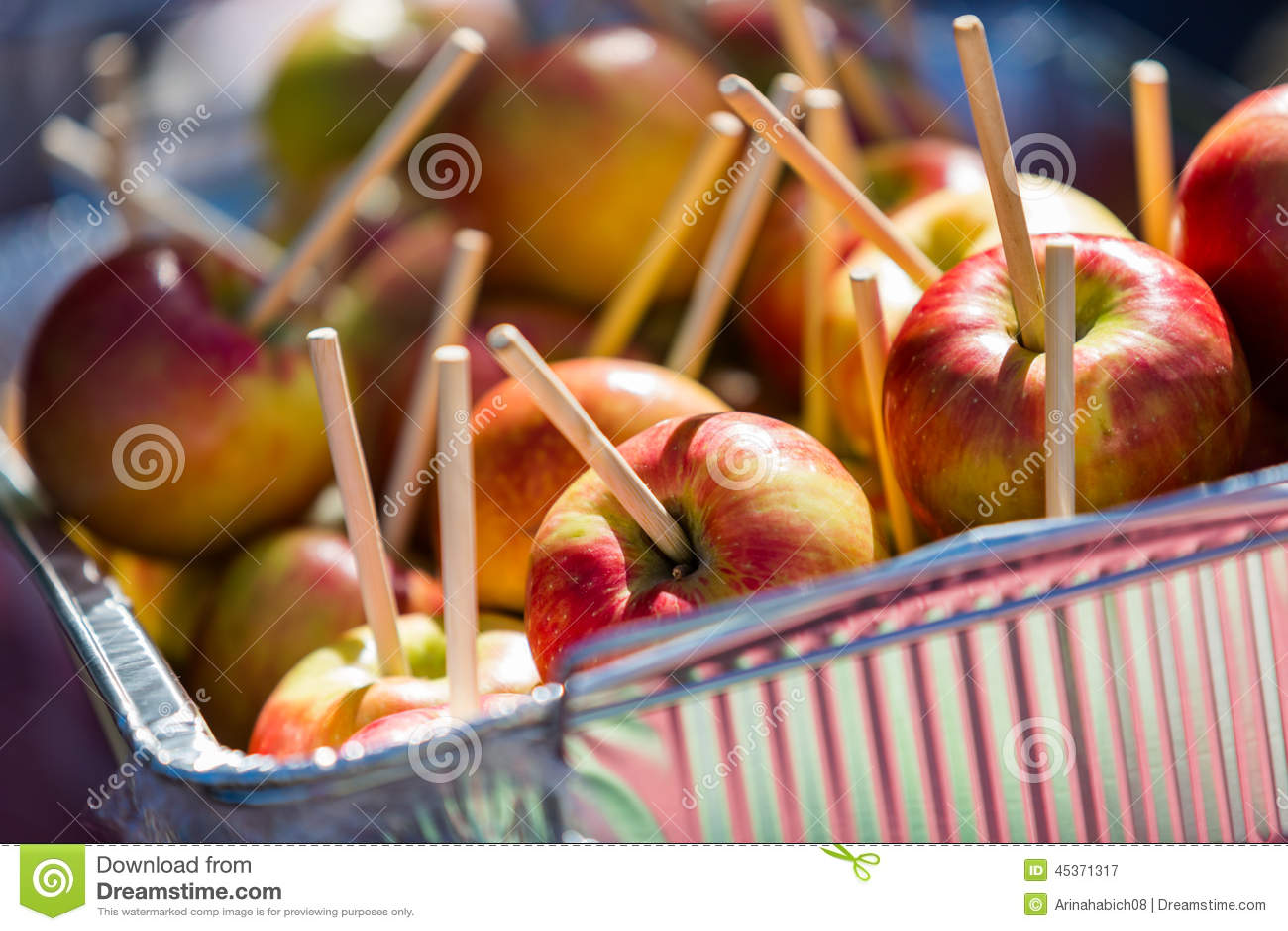 Pommes de caramel