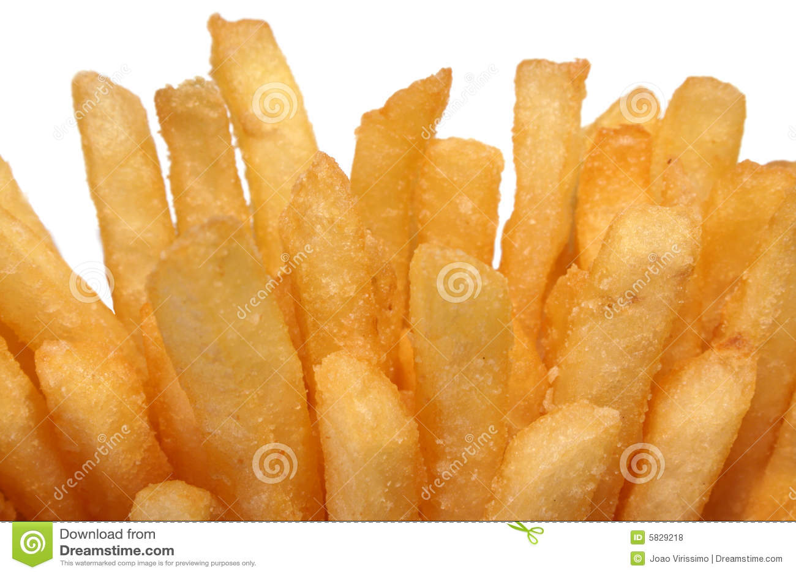 Pommes Frites Stockfoto Bild Von Spud Spuds Klar Kalorien 5829218