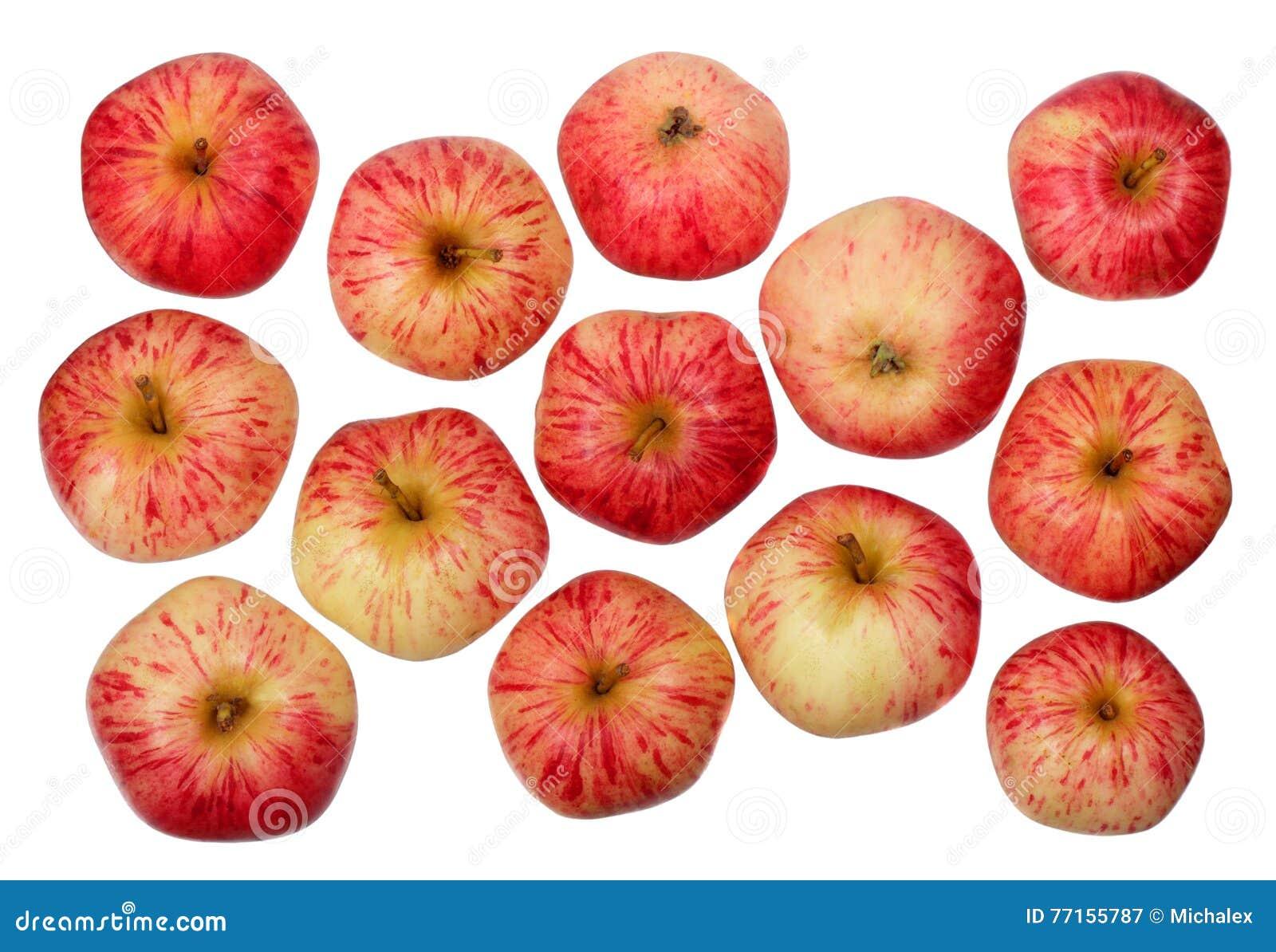 Pommes rouges mûres
