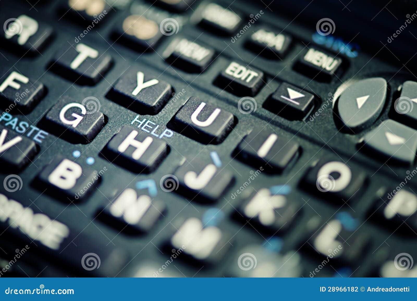 Pomoc tekst na klawiaturze
