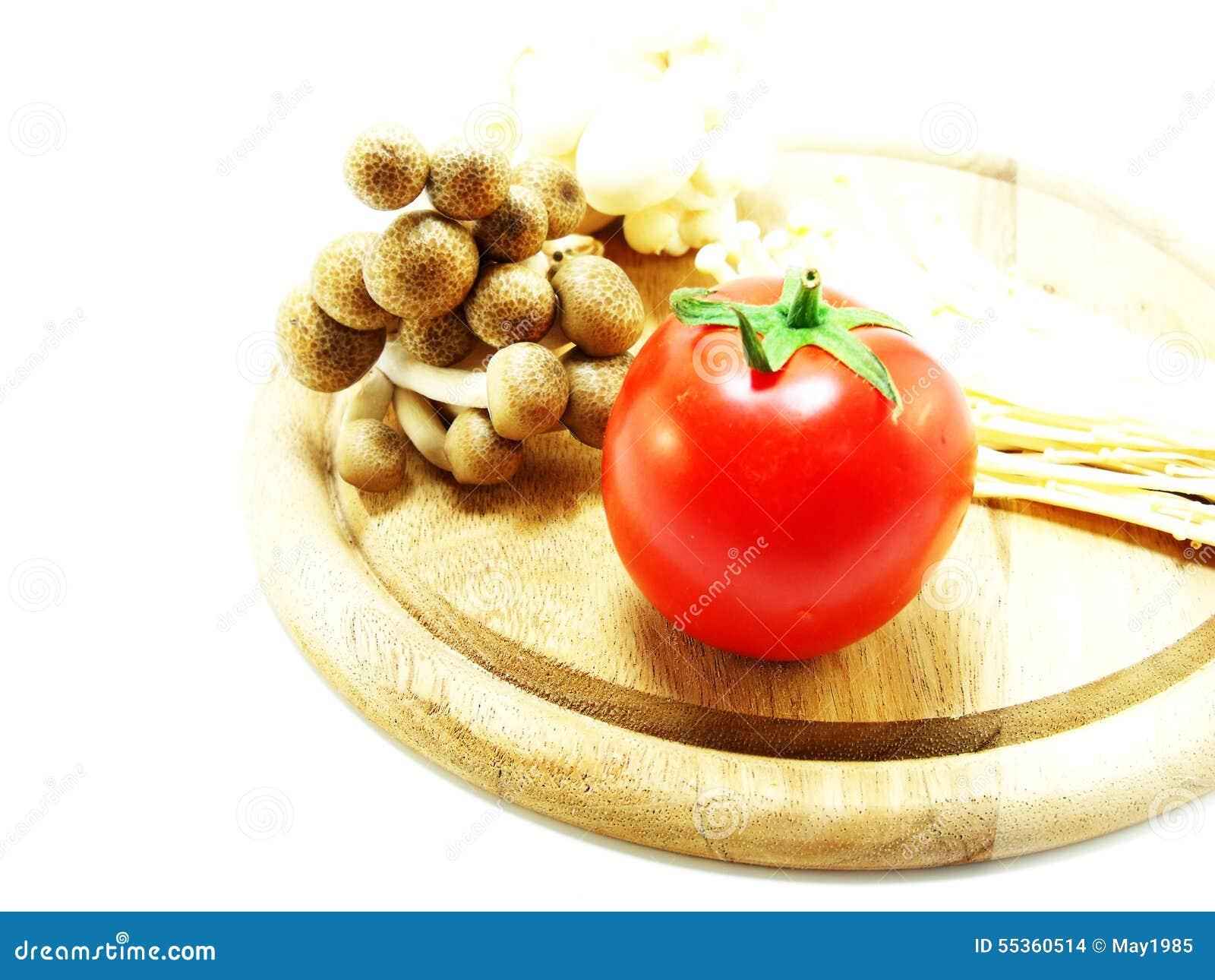 Pomodori e fungo