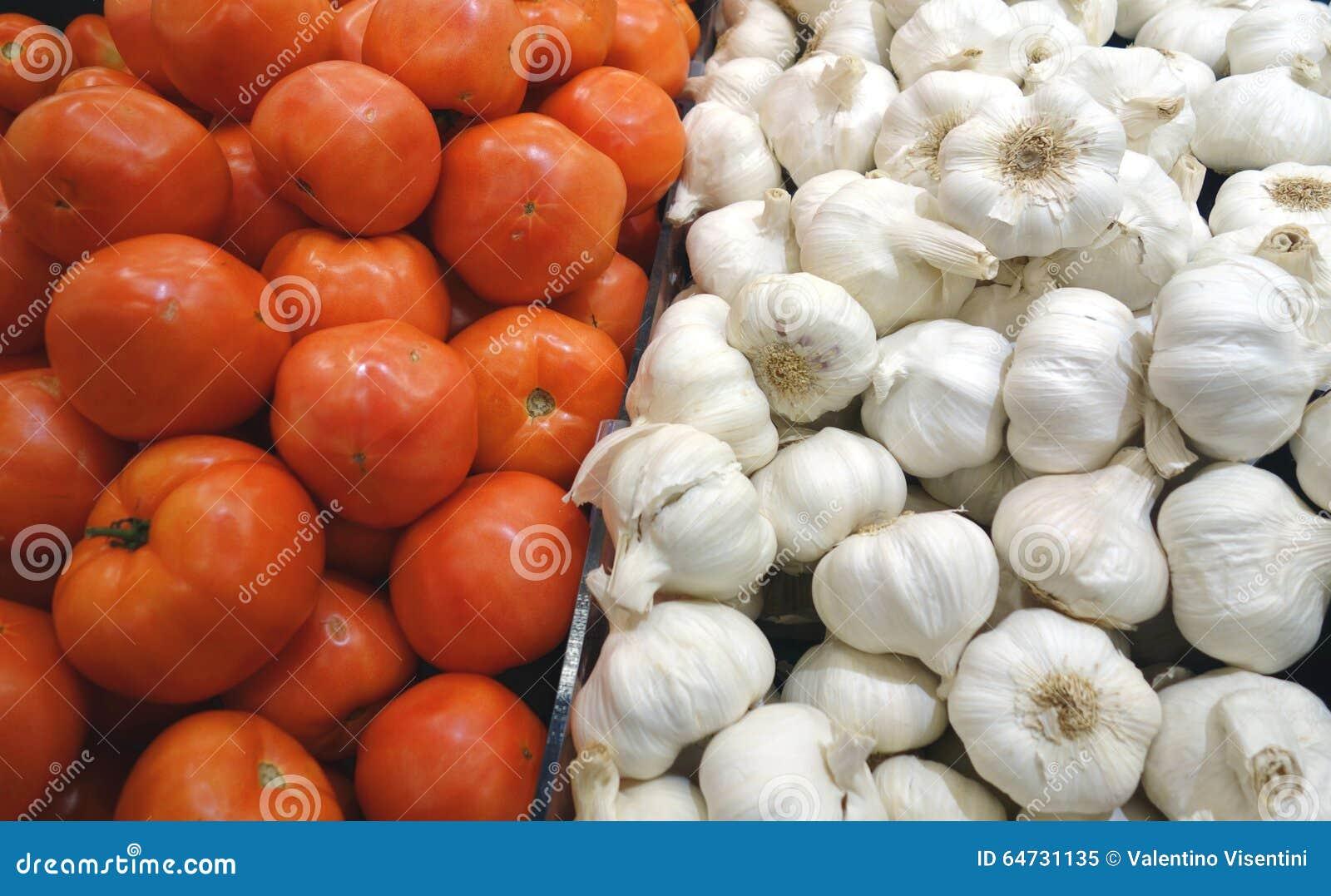 Pomodori ed aglio