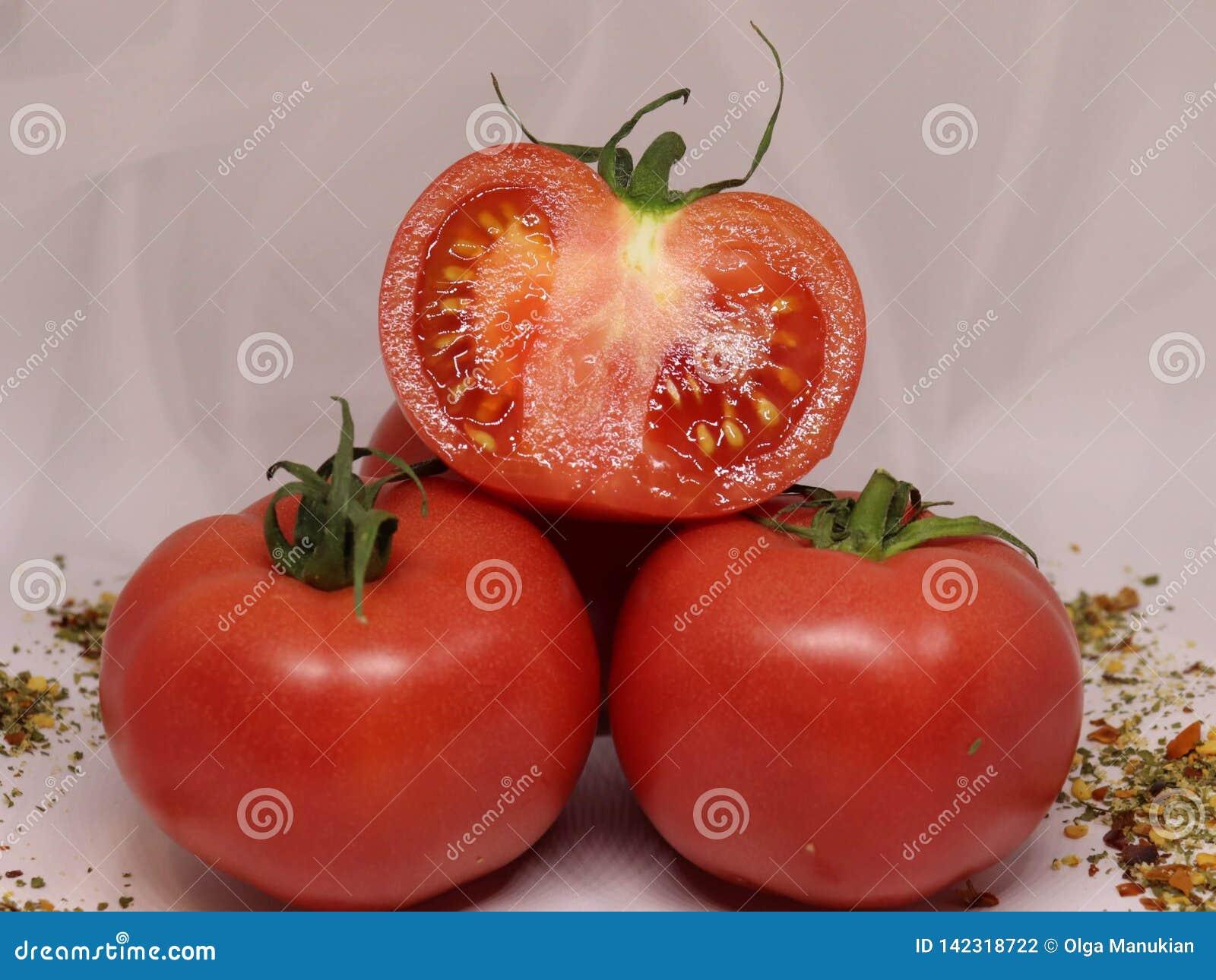 Pomodori Verdure saporite e sane
