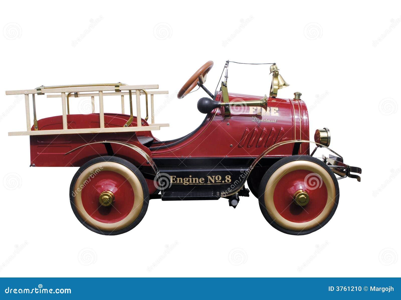Pompe à incendie de véhicule de pédale
