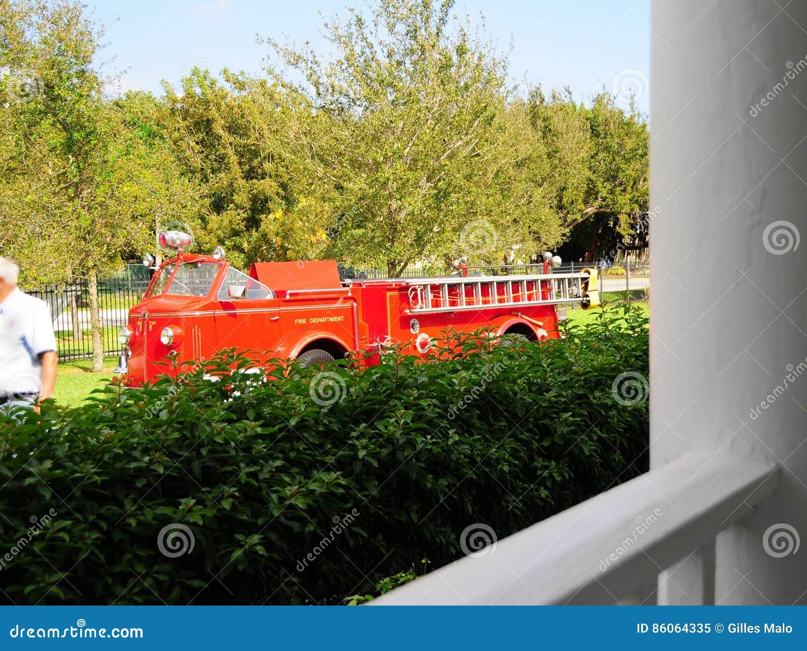 Pompe à incendie, la Floride