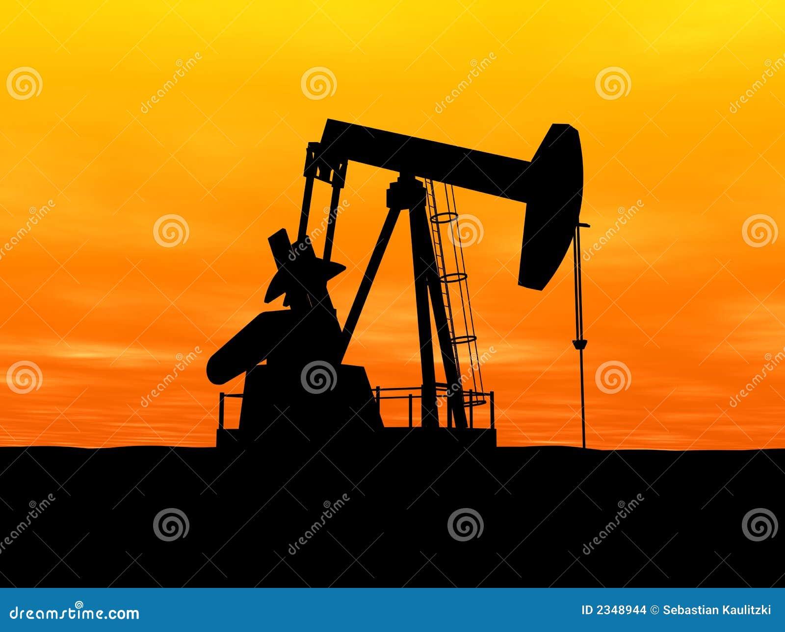 Pompe de p trole illustration stock illustration du proc d 2348944 - Pompe a petrole ...