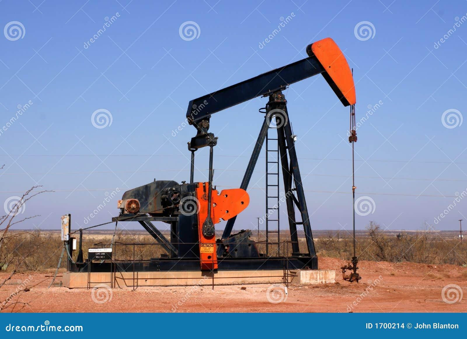 Pompe de puits de p trole images stock image 1700214 - Pompe a petrole ...