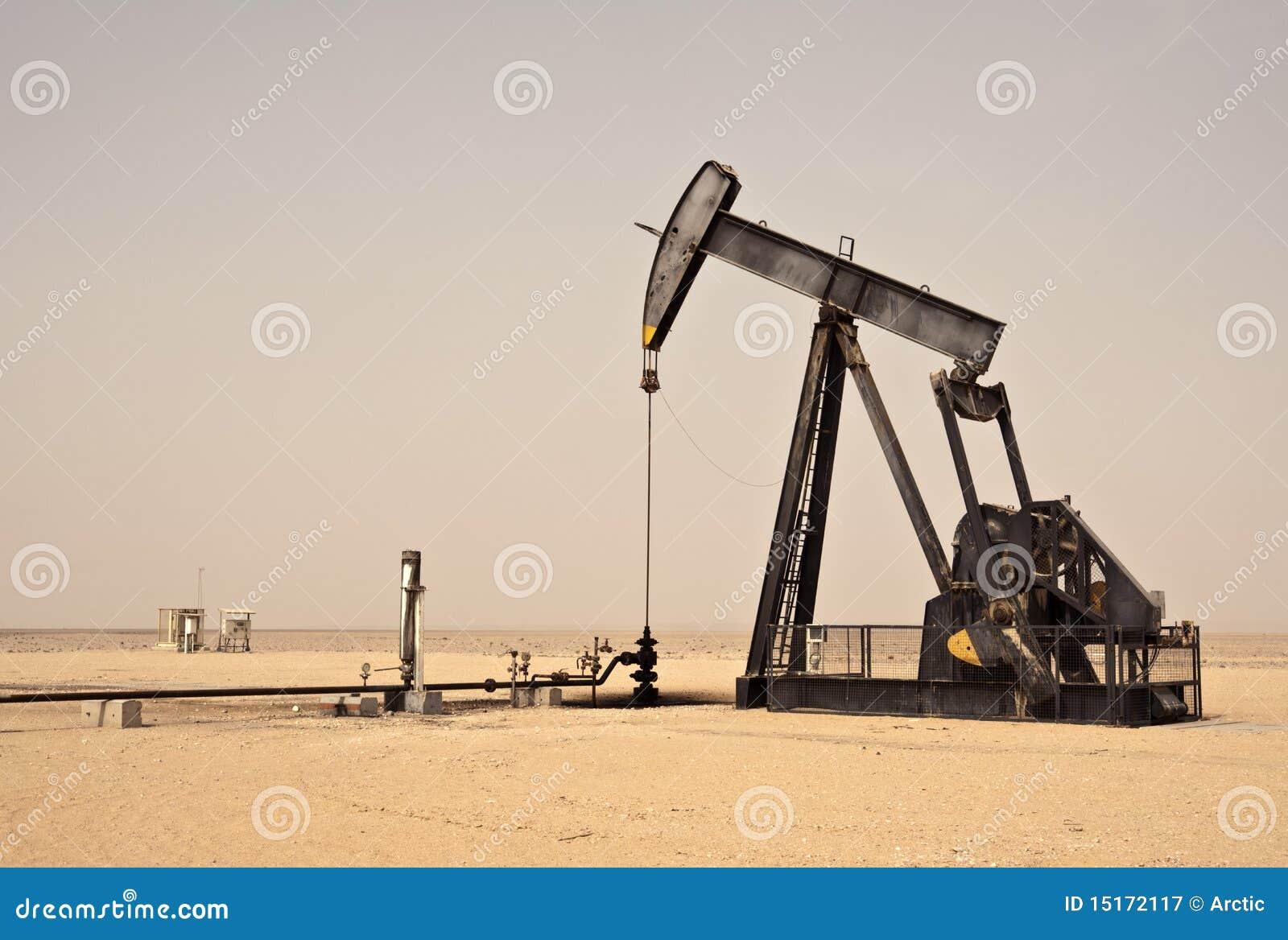 Pompe de t te de cheval de puits de p trole photographie stock libre de droits image 15172117 - Pompe a petrole ...