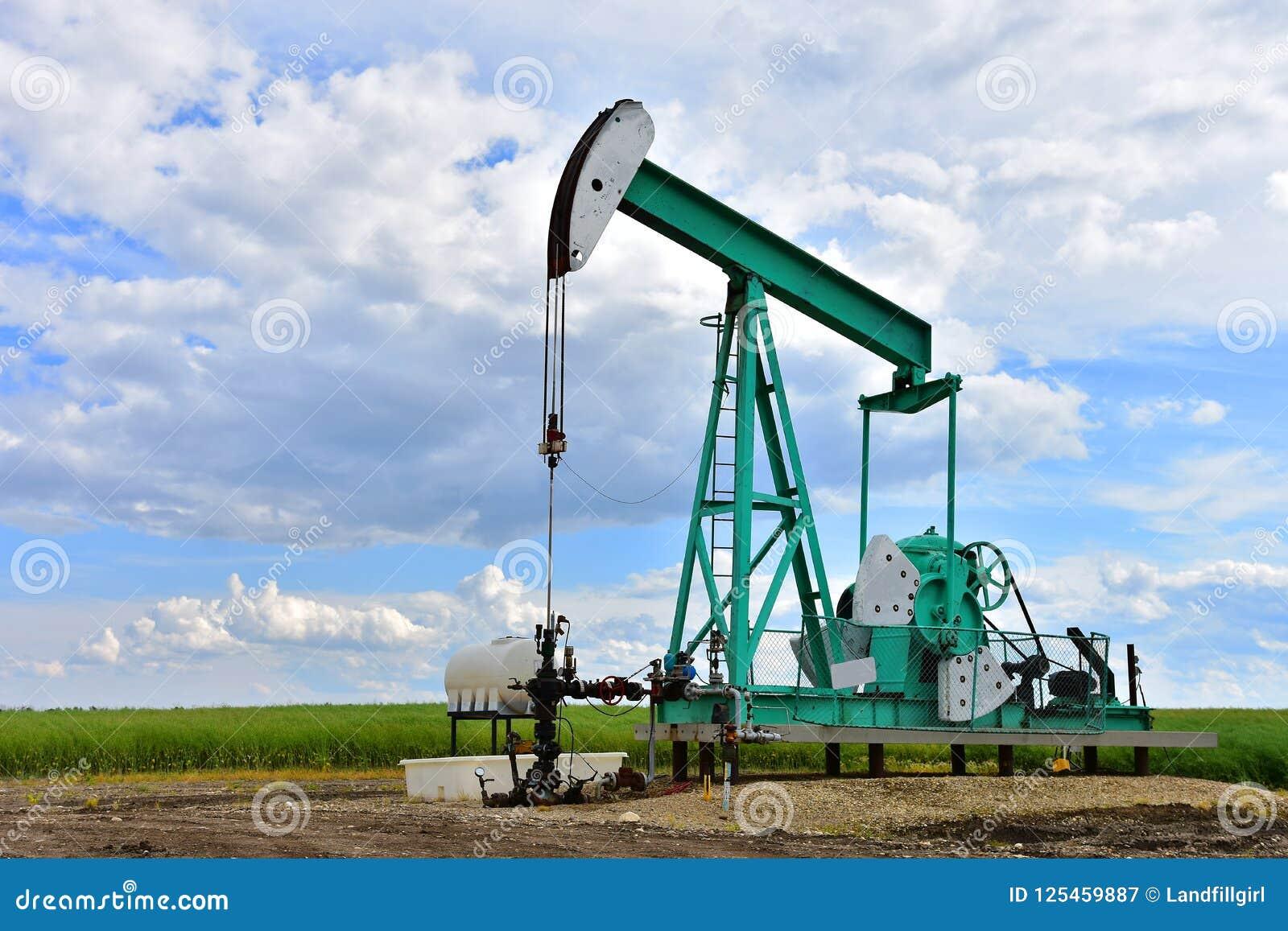 Pompe Jack de puits de pétrole