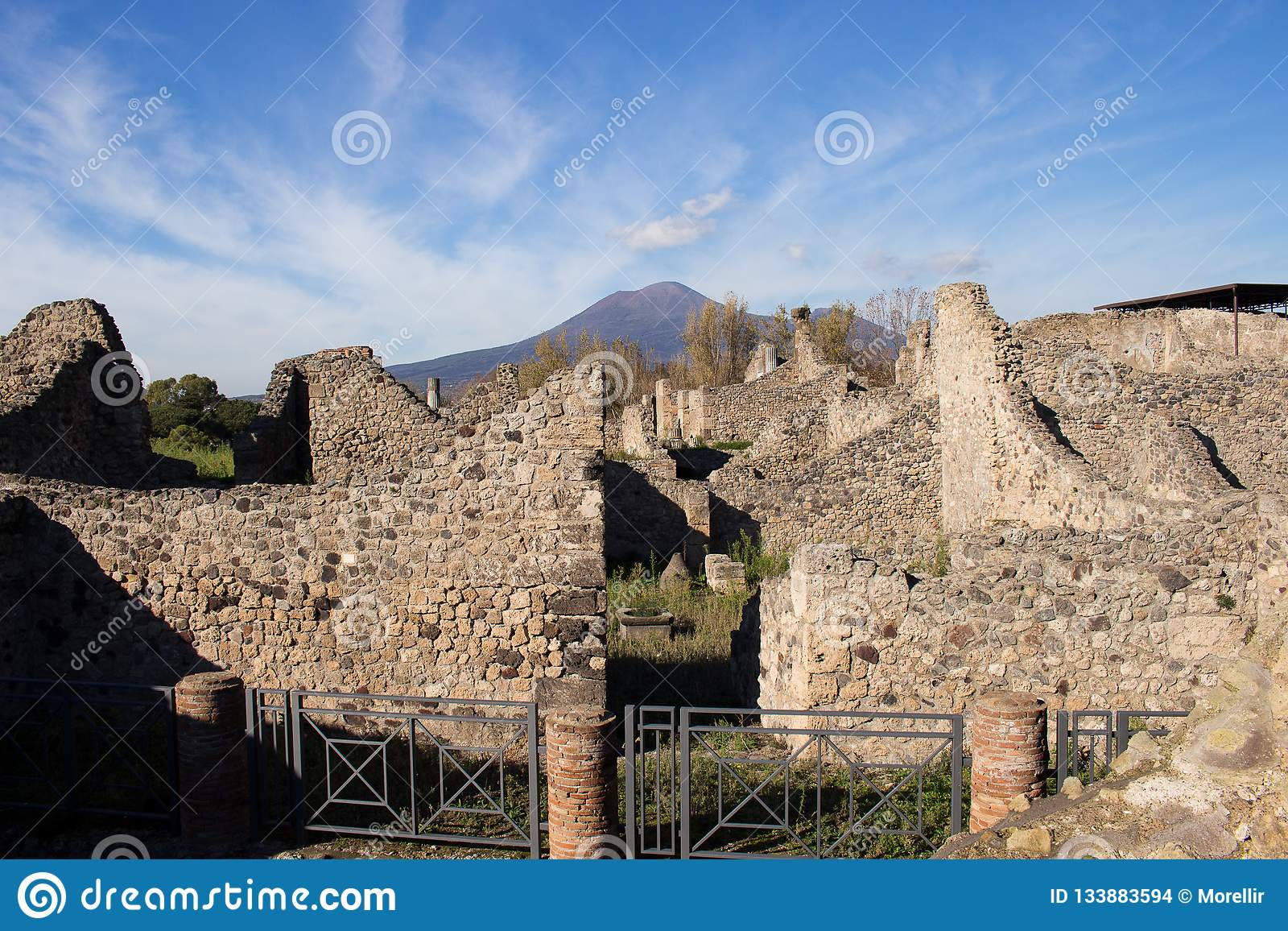Pompeii Is An Ancient City Buried In 79 AD From The Eruption Of Vesuvius