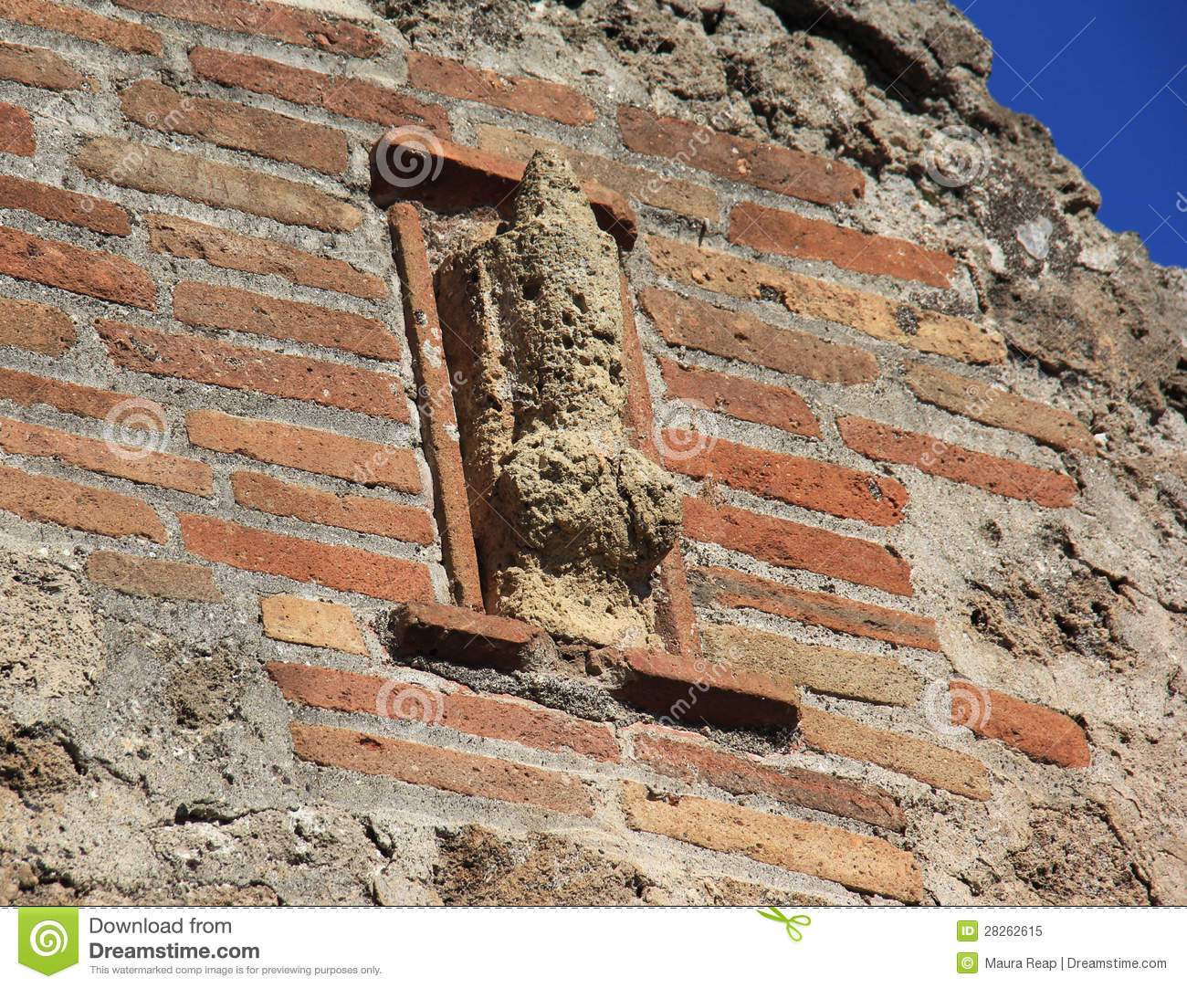 Pompeii Brothel Royalty Free Stock Photo - Image: 28262615