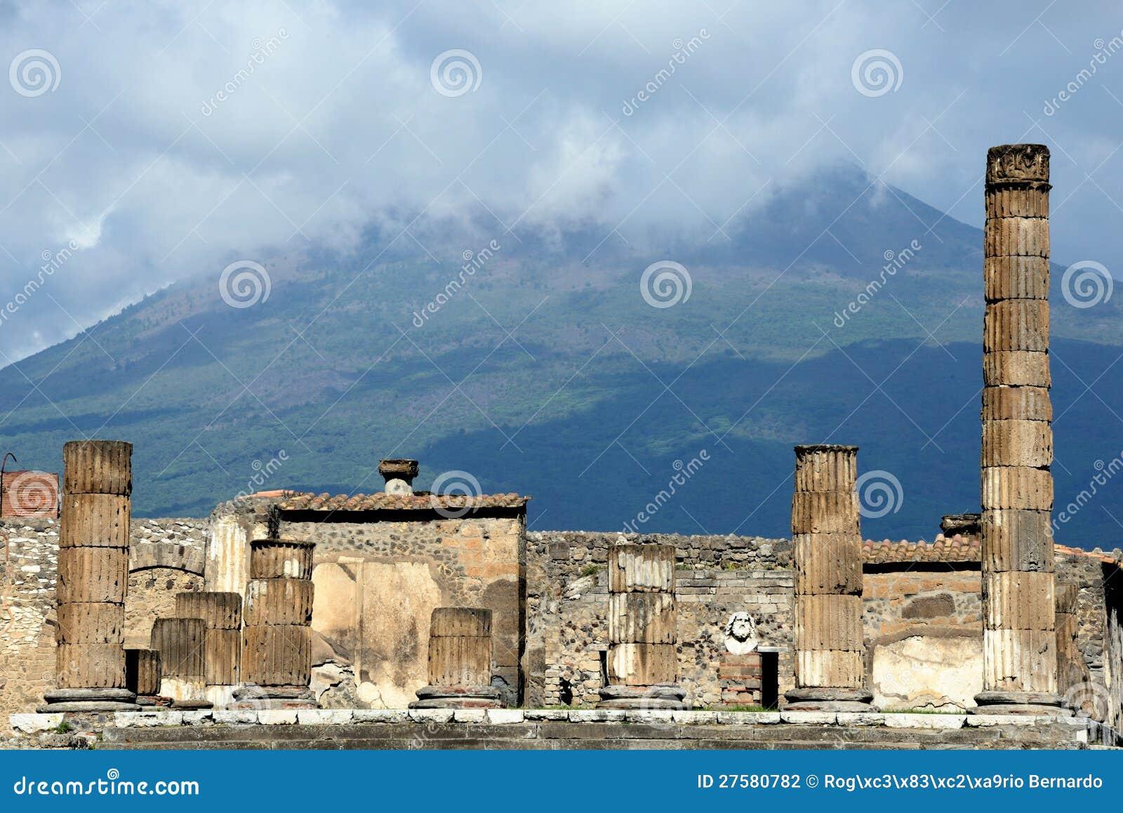 Pompeii et Vésuve