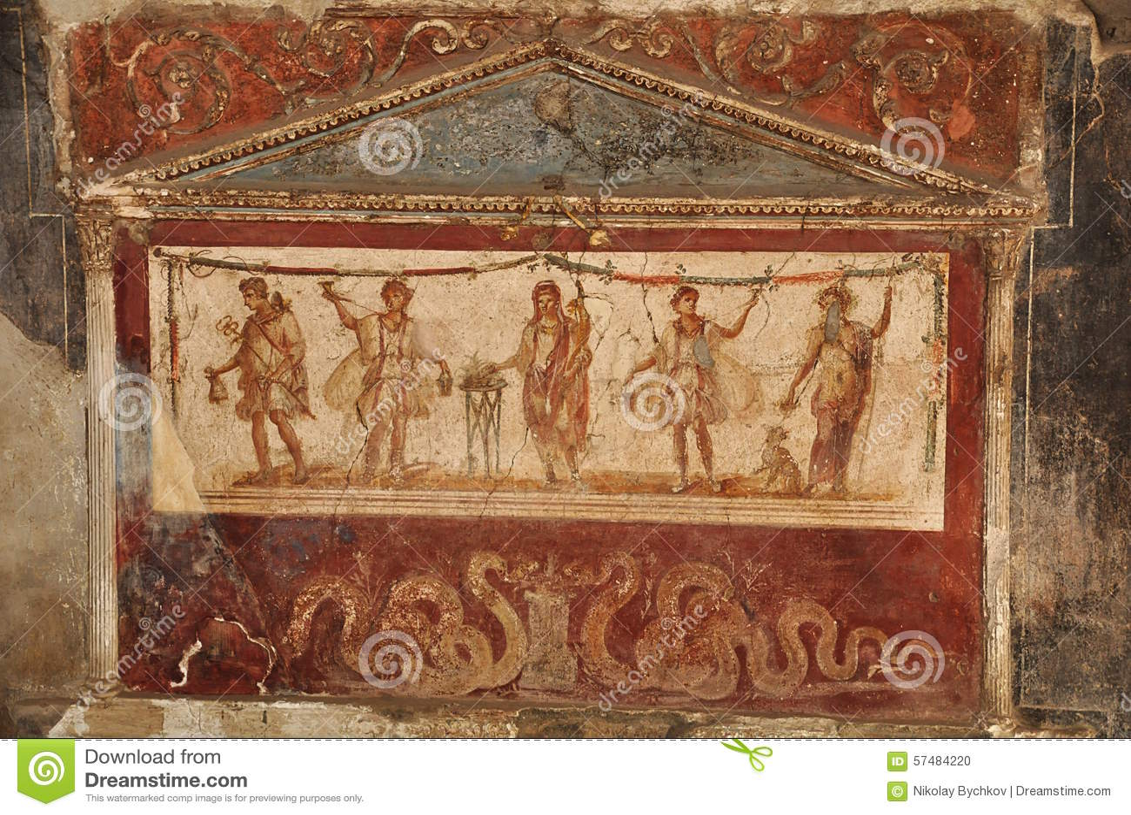 Pompeii fördärvar
