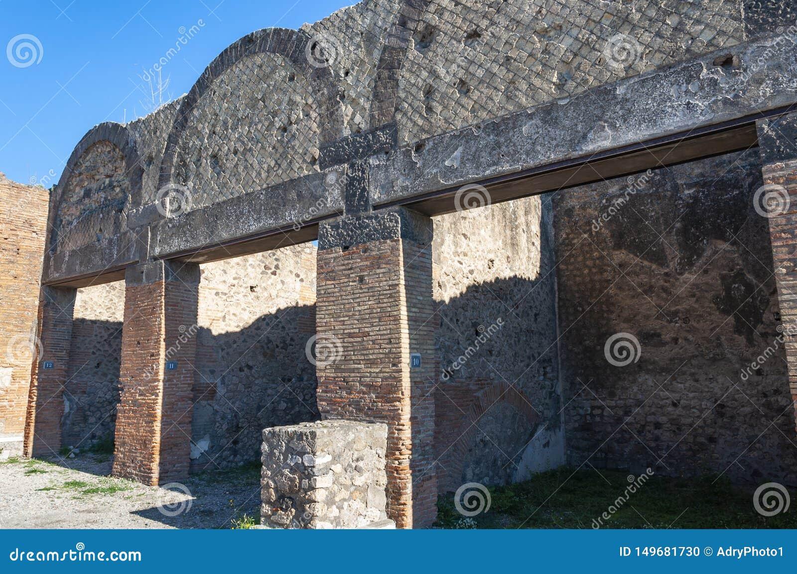 Pompeii, le meilleur site arch?ologique pr?serv? dans le monde, Italie