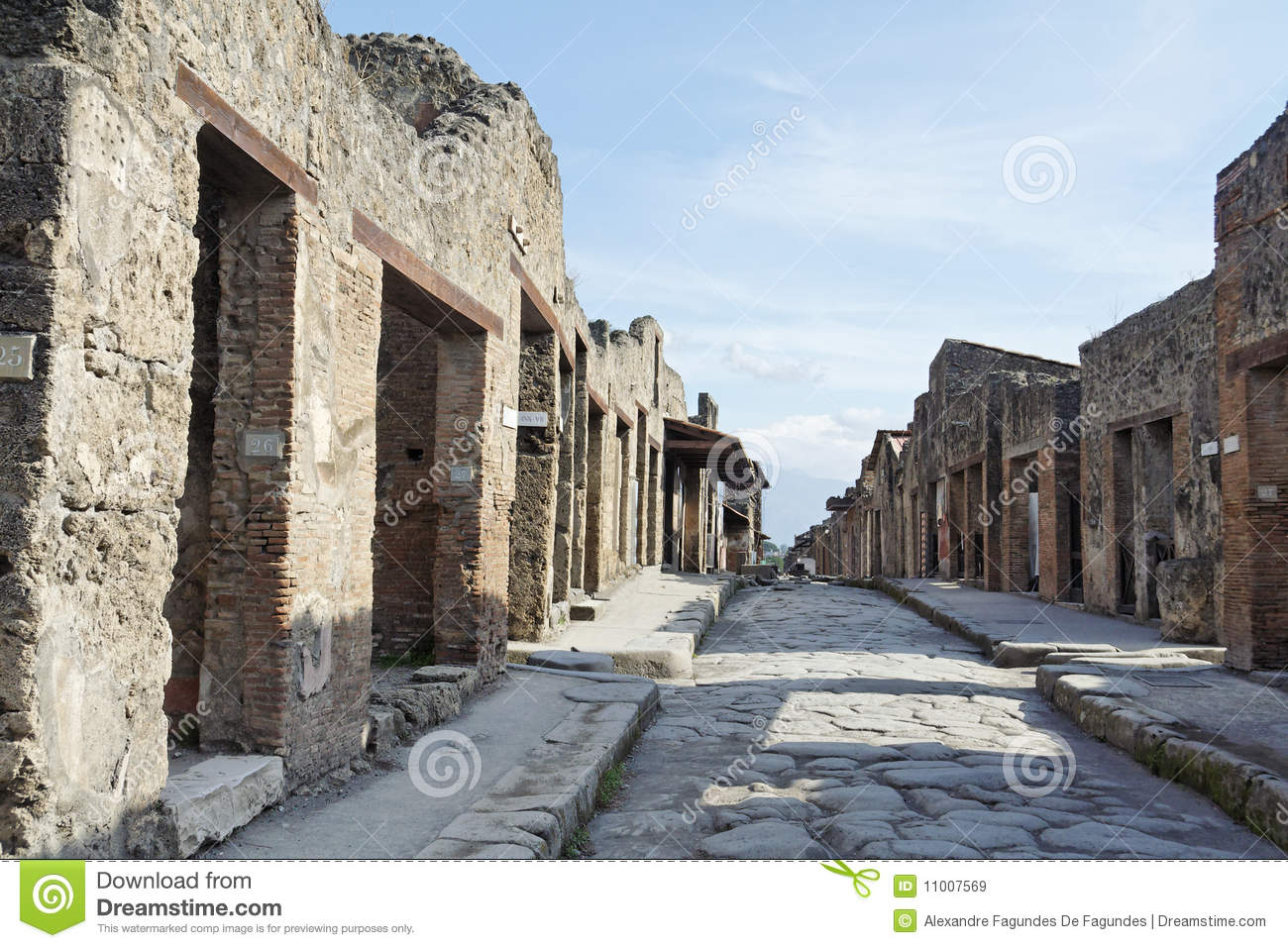 ... walls and doors of the ancient houses and businesses.South of Italy