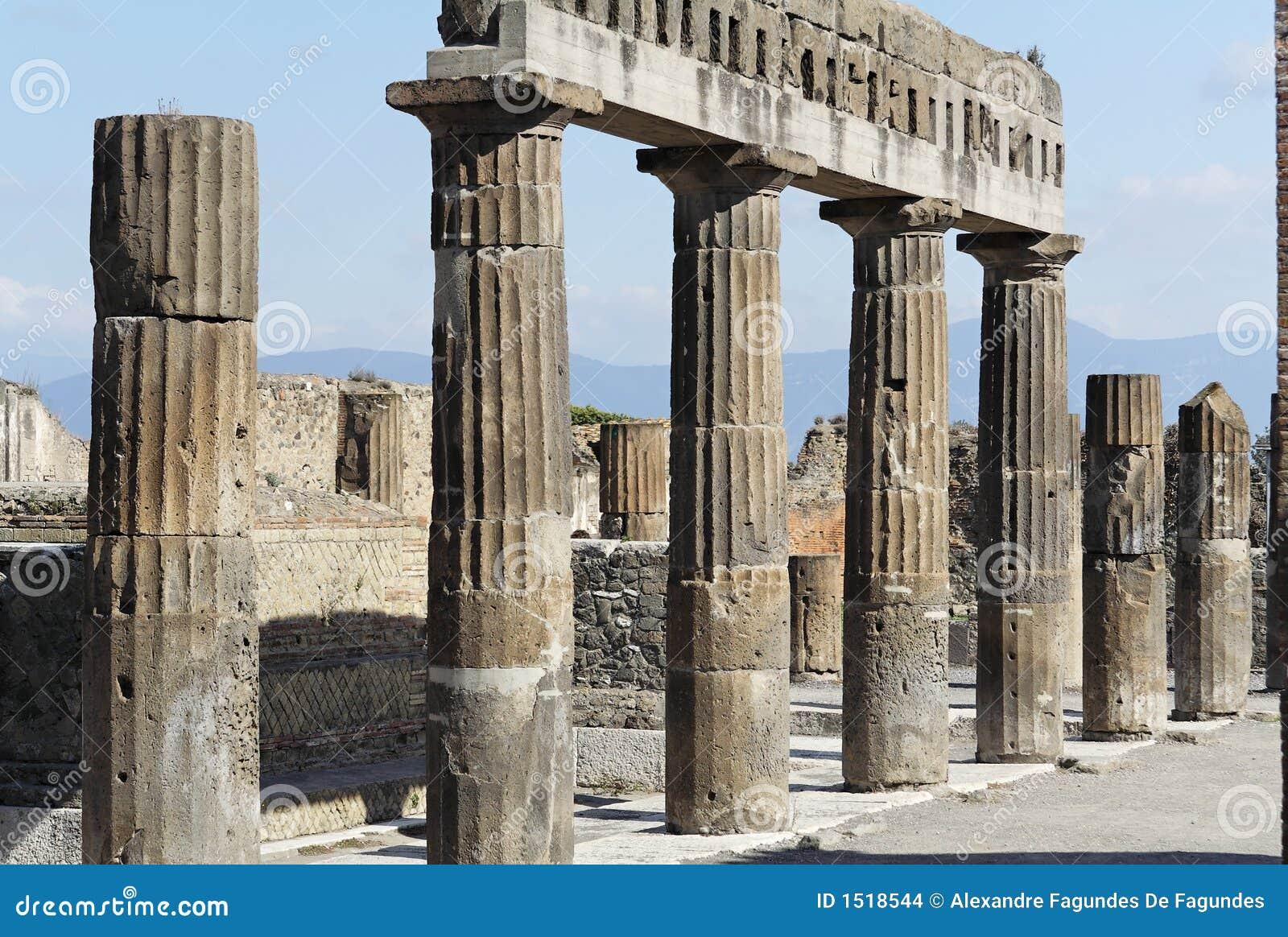 Pompeje romana forum