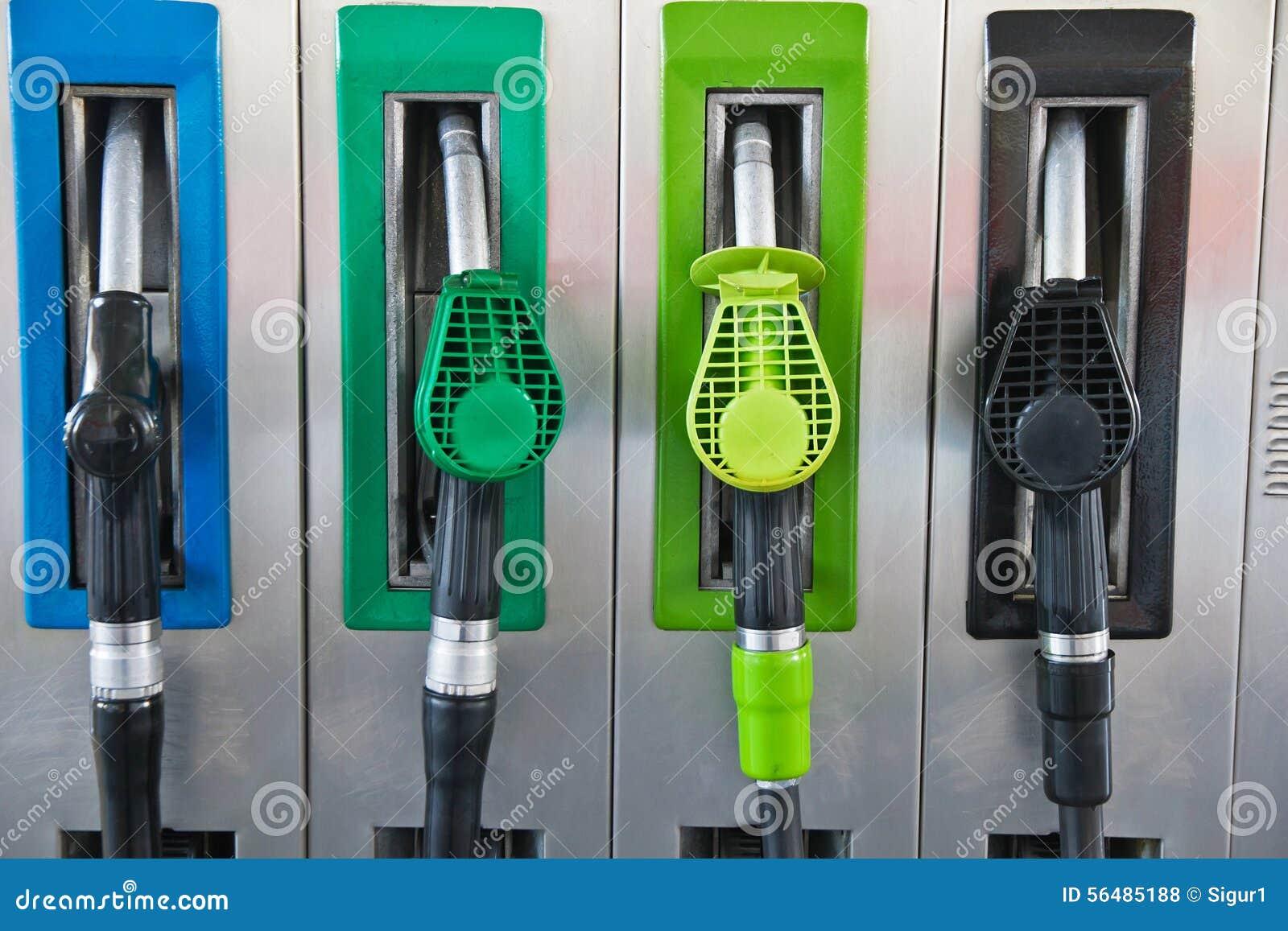 Pompes à essence ou distributeurs en gaz
