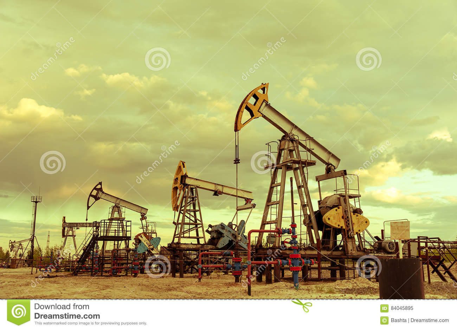 Pompes de puits de pétrole